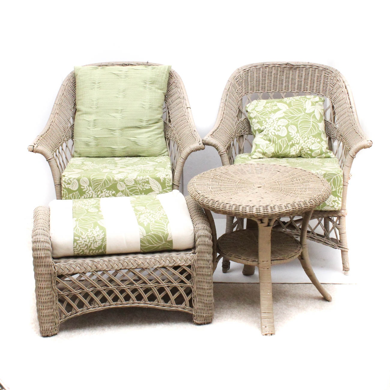 Woven Cord Patio Chairs