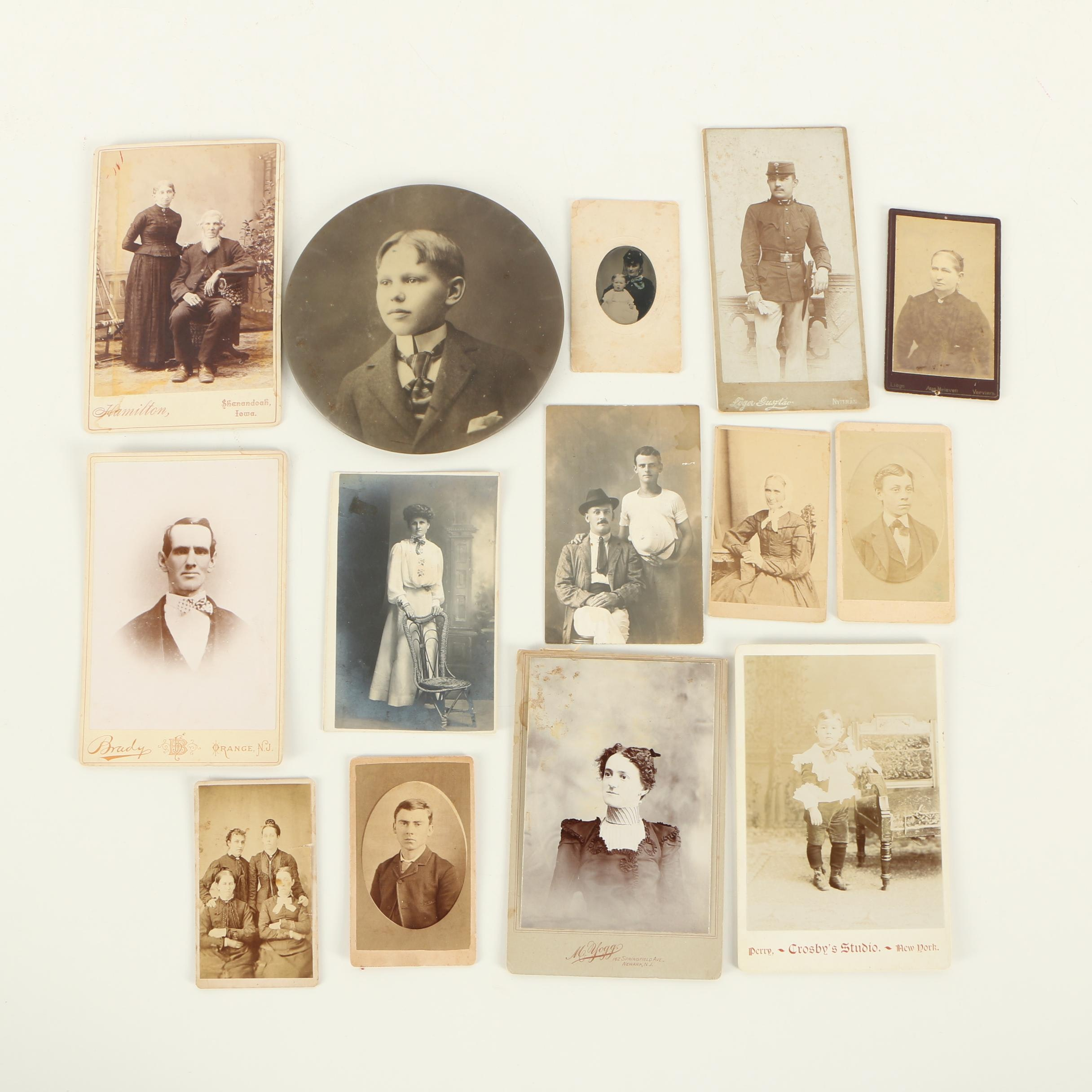 Assorted 19th Century Photographs