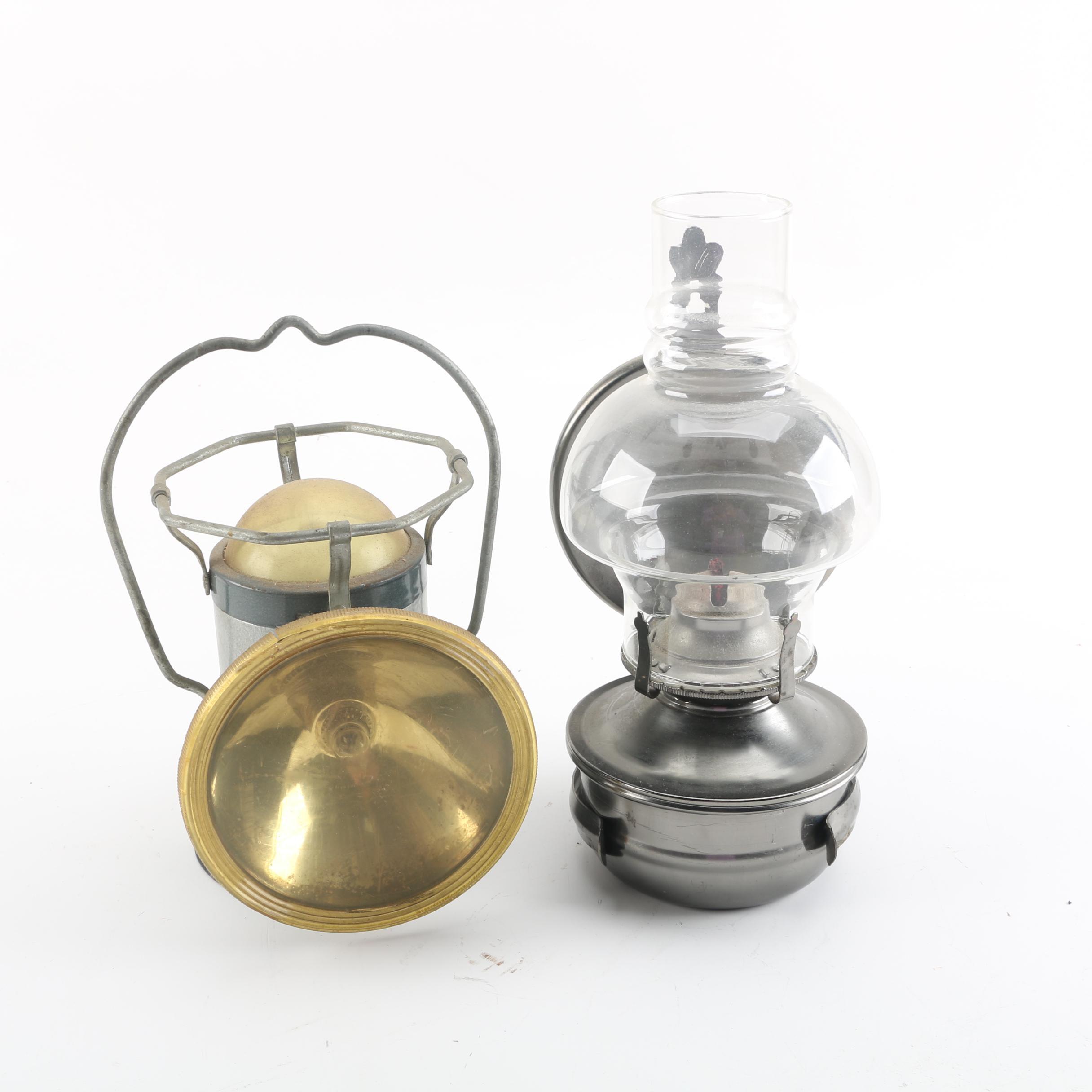 Delta PowerLite Battery Lantern and Kerosene Lantern
