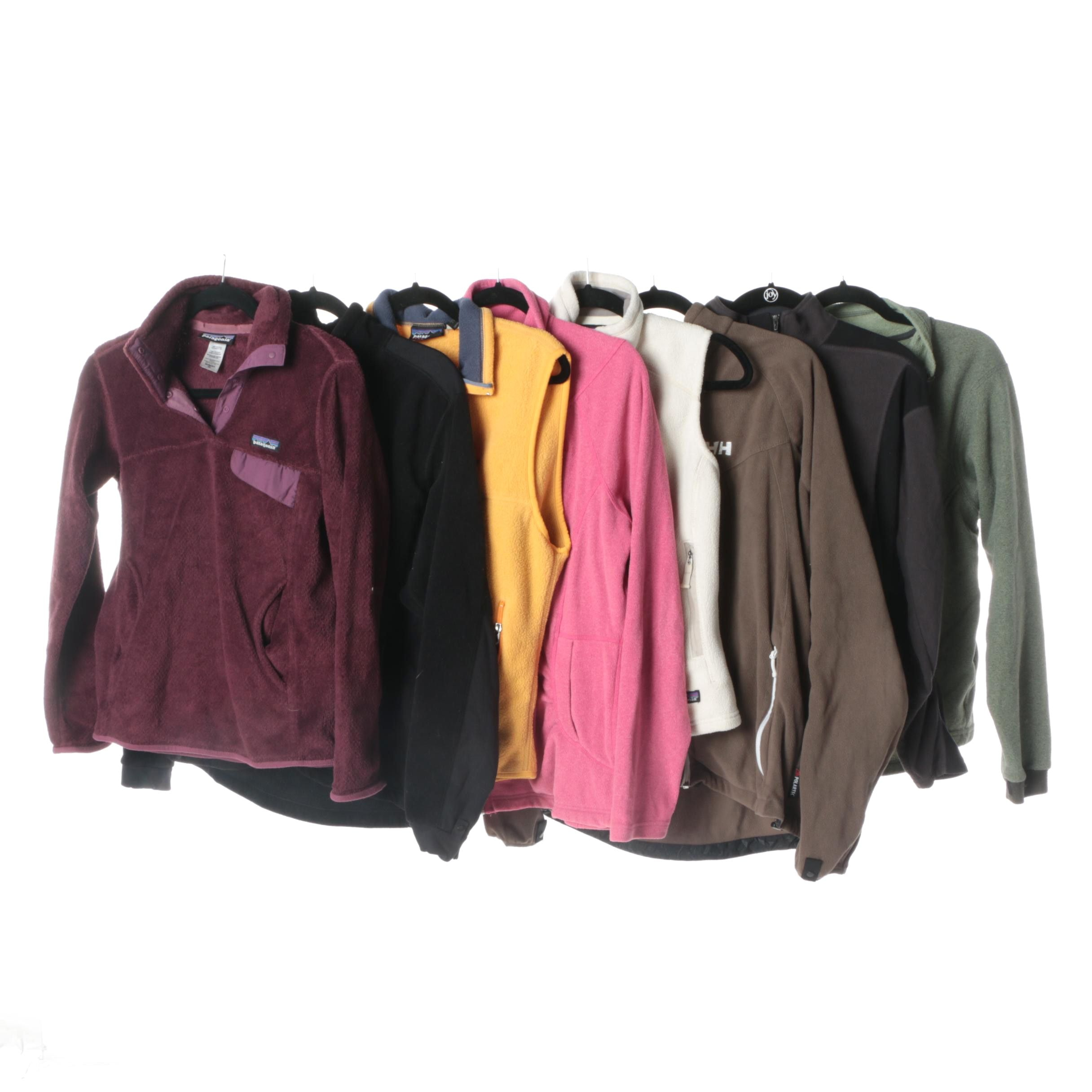 Women's Fleece Jackets and Vests Including Patagonia and The North Face