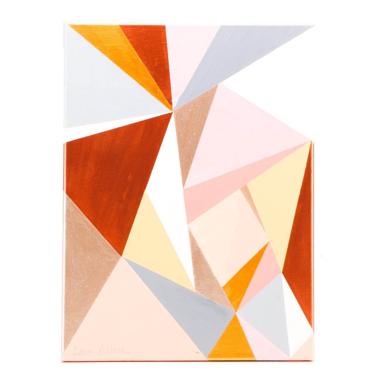 Lou Allen Contemporary 2018 Original Abstract Acrylic on Canvas
