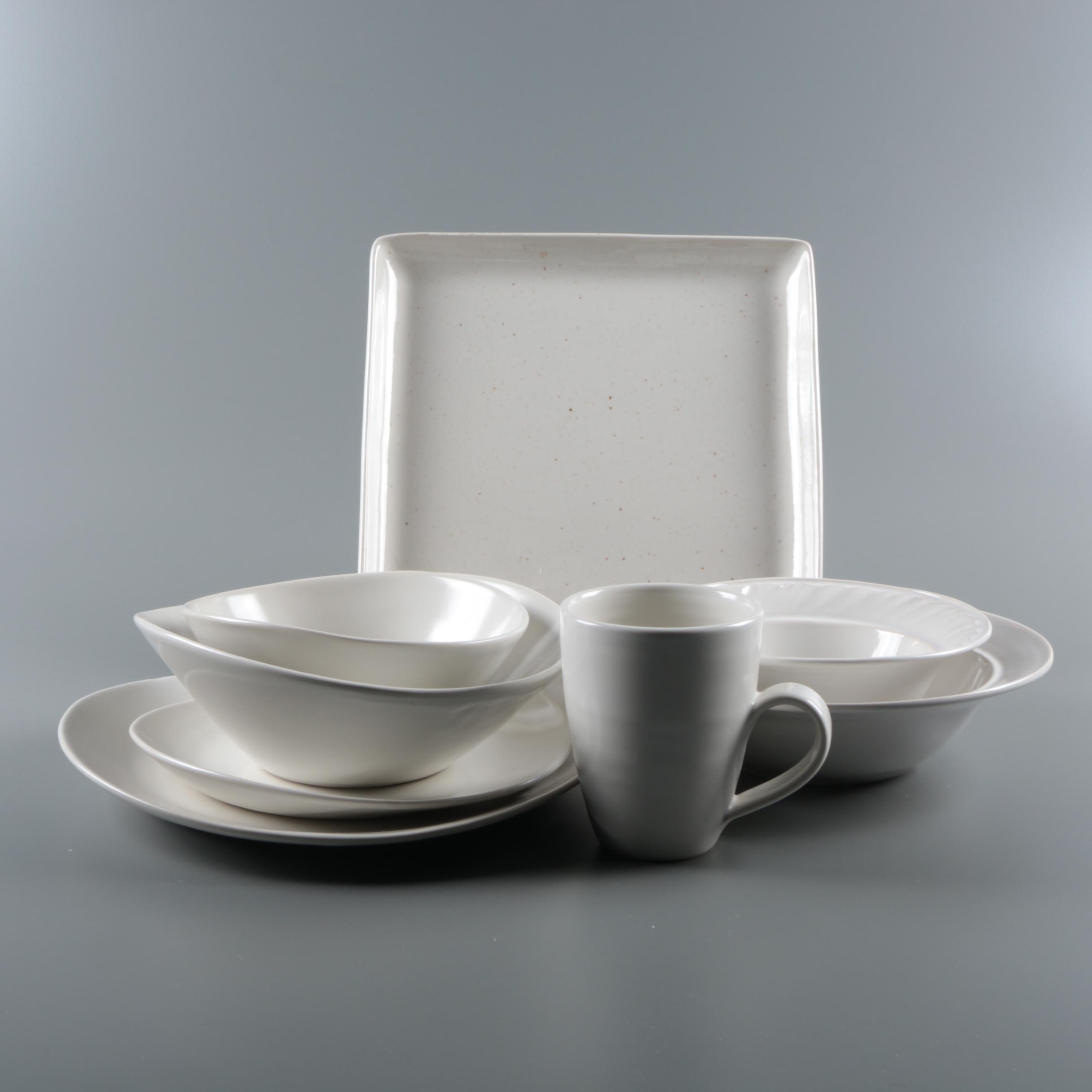 "Simon Pearce Ceramic Tableware Including ""Barre"" and ""Woodbury"""