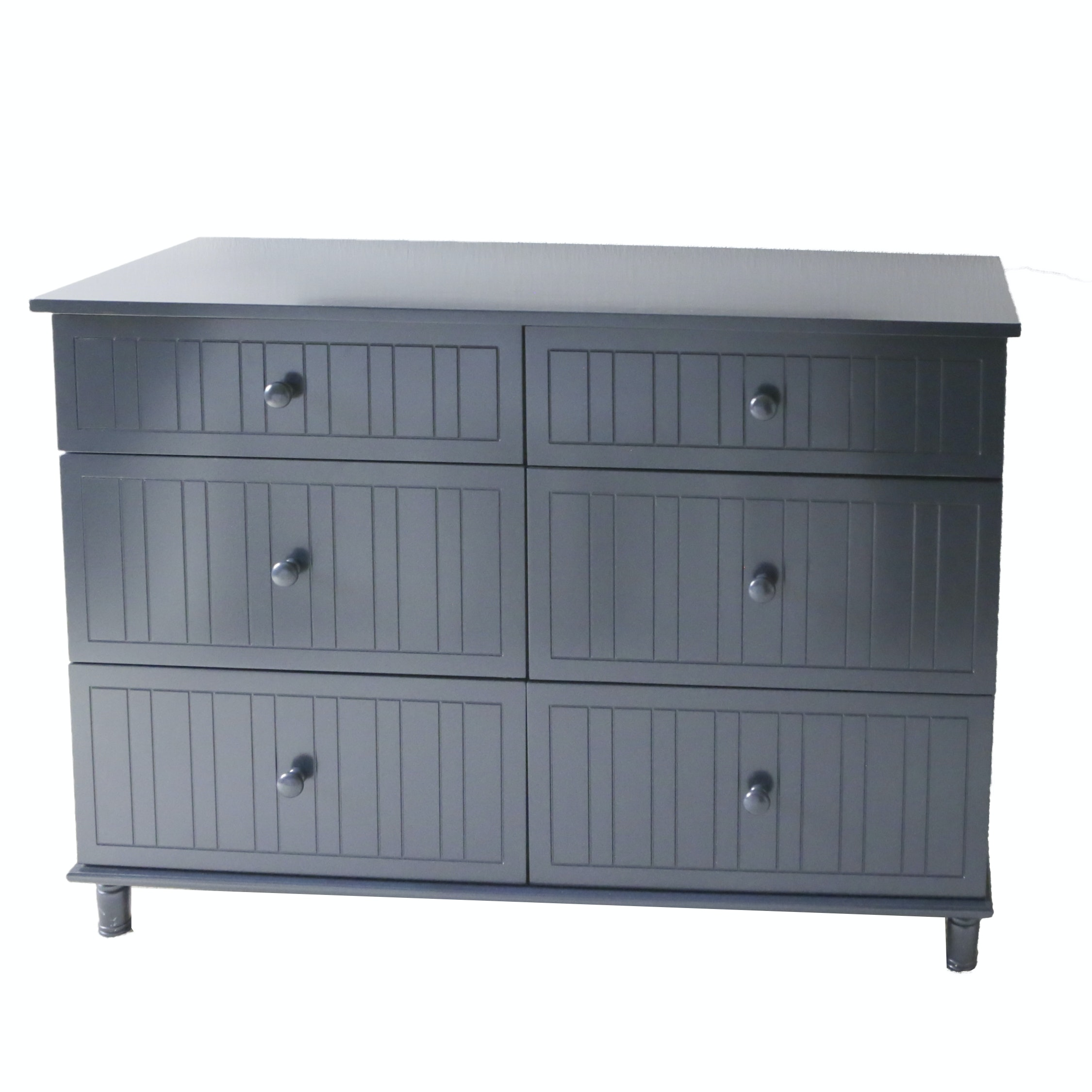 Contemporary Black Painted Chest of Drawers