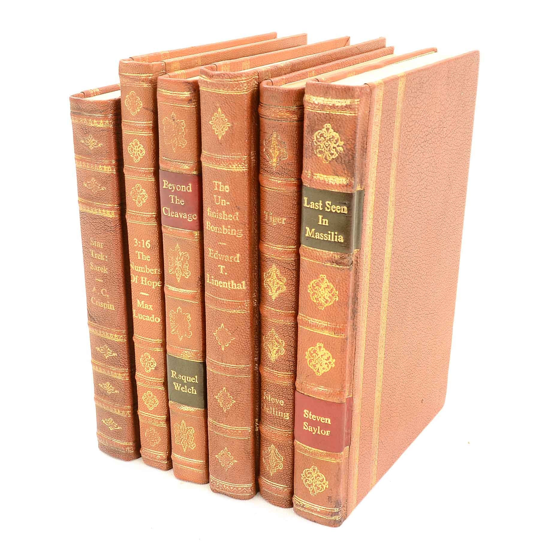 Assorted Hardcover Books