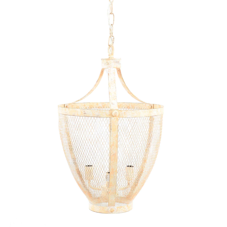Decorative Wire Mesh Pendant Light