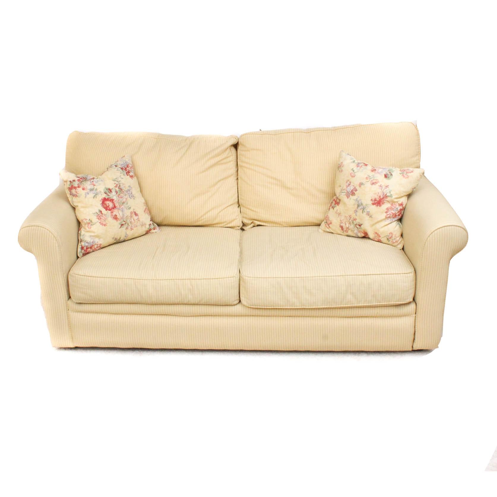 Contemporary Upholstered Sleeper Sofa