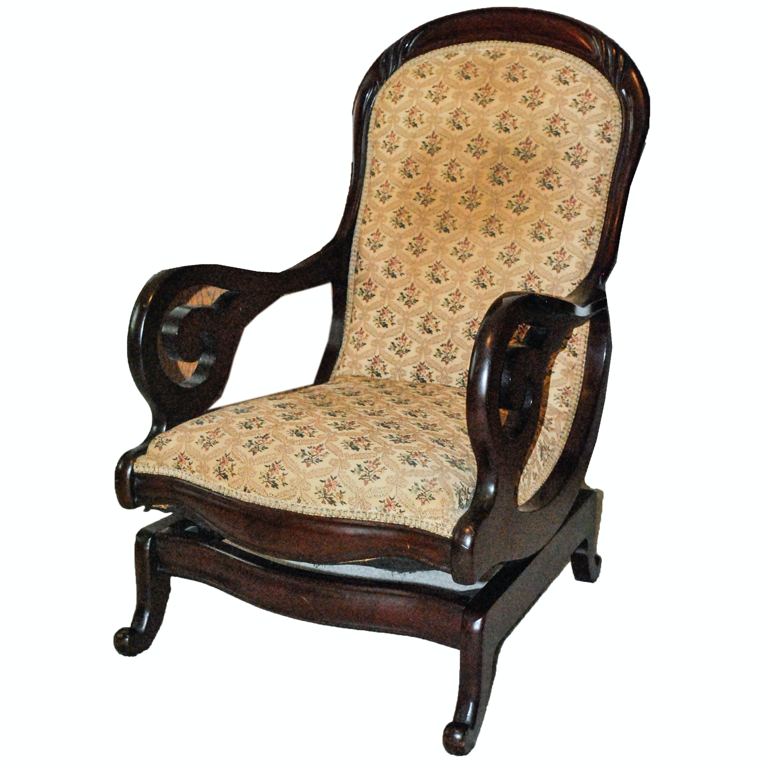 Victorian Style Rocking Chair