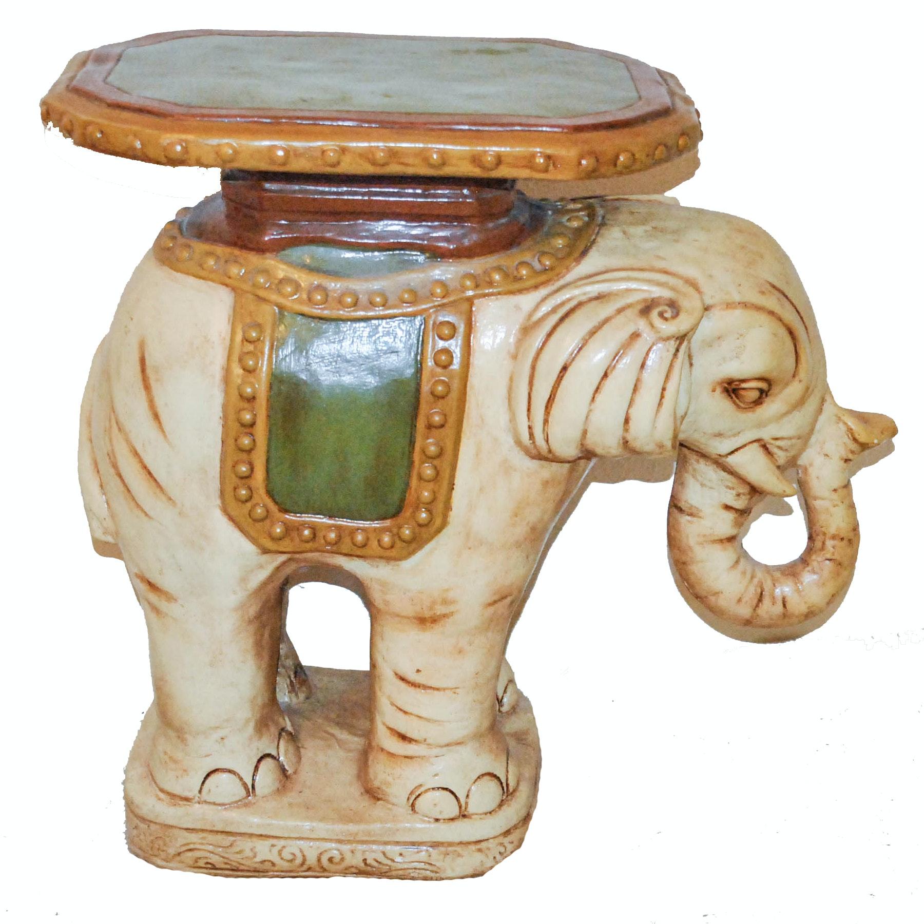 Elephant Shaped Plant Stand