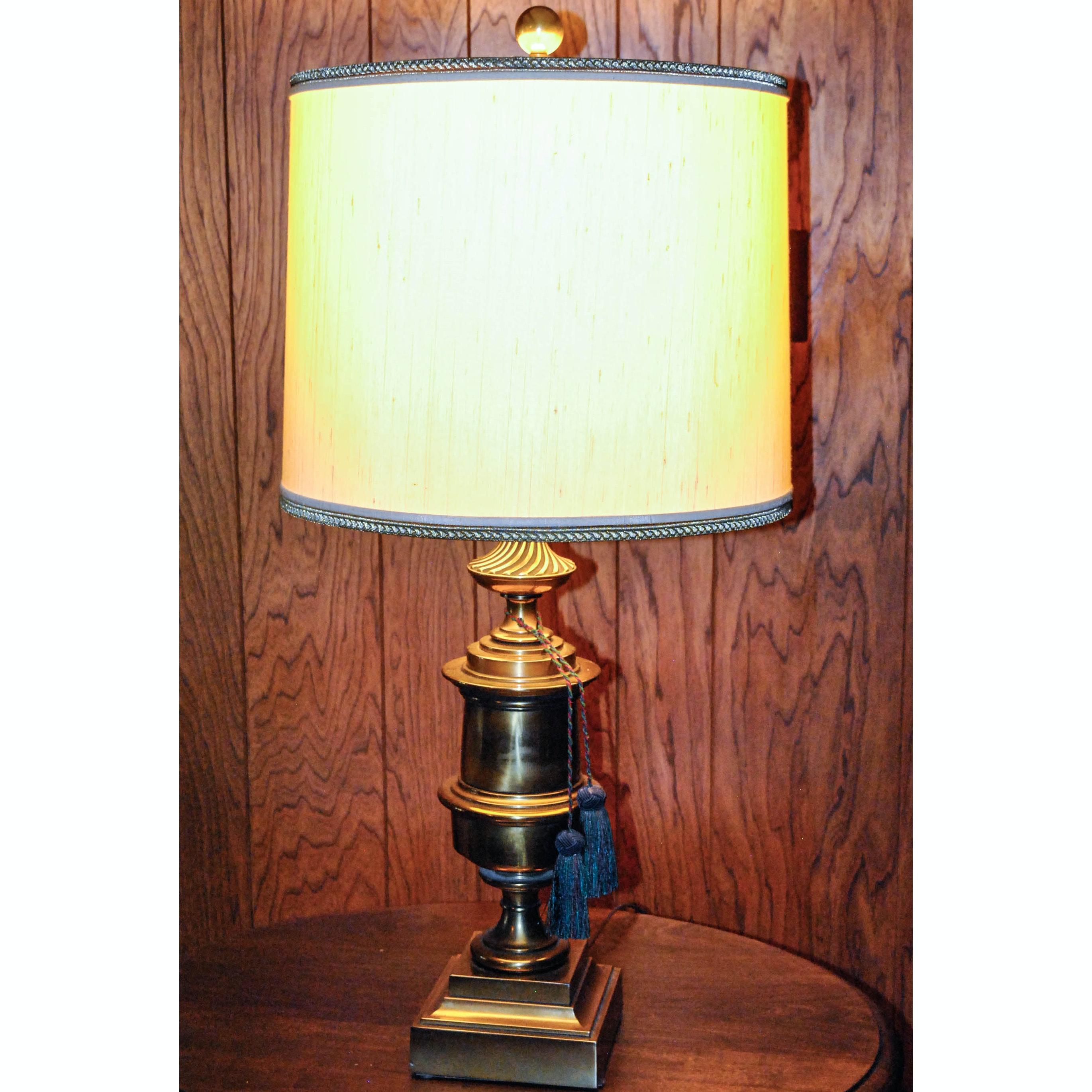Vintage Brass Table Lamp