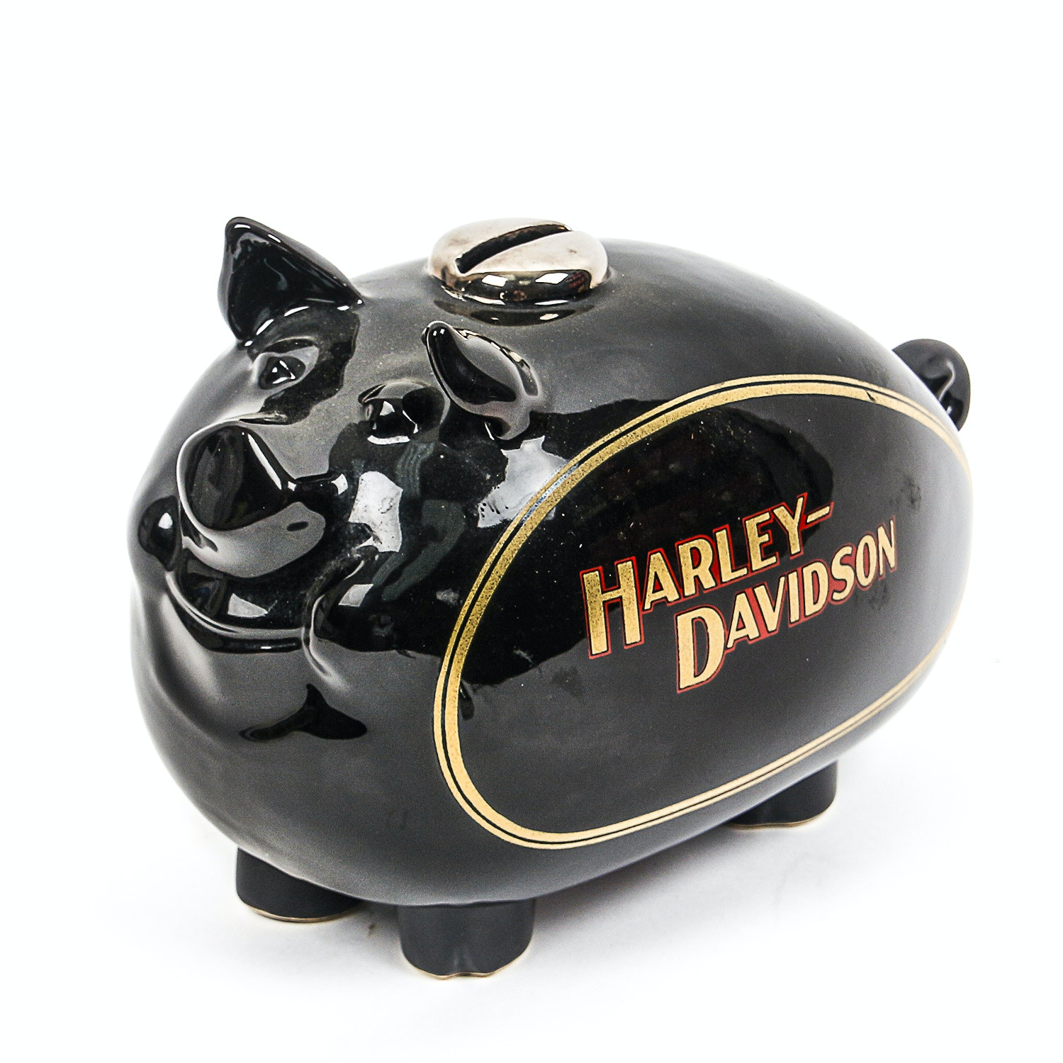 Harley-Davidson Ceramic Gas Tank Piggy Bank