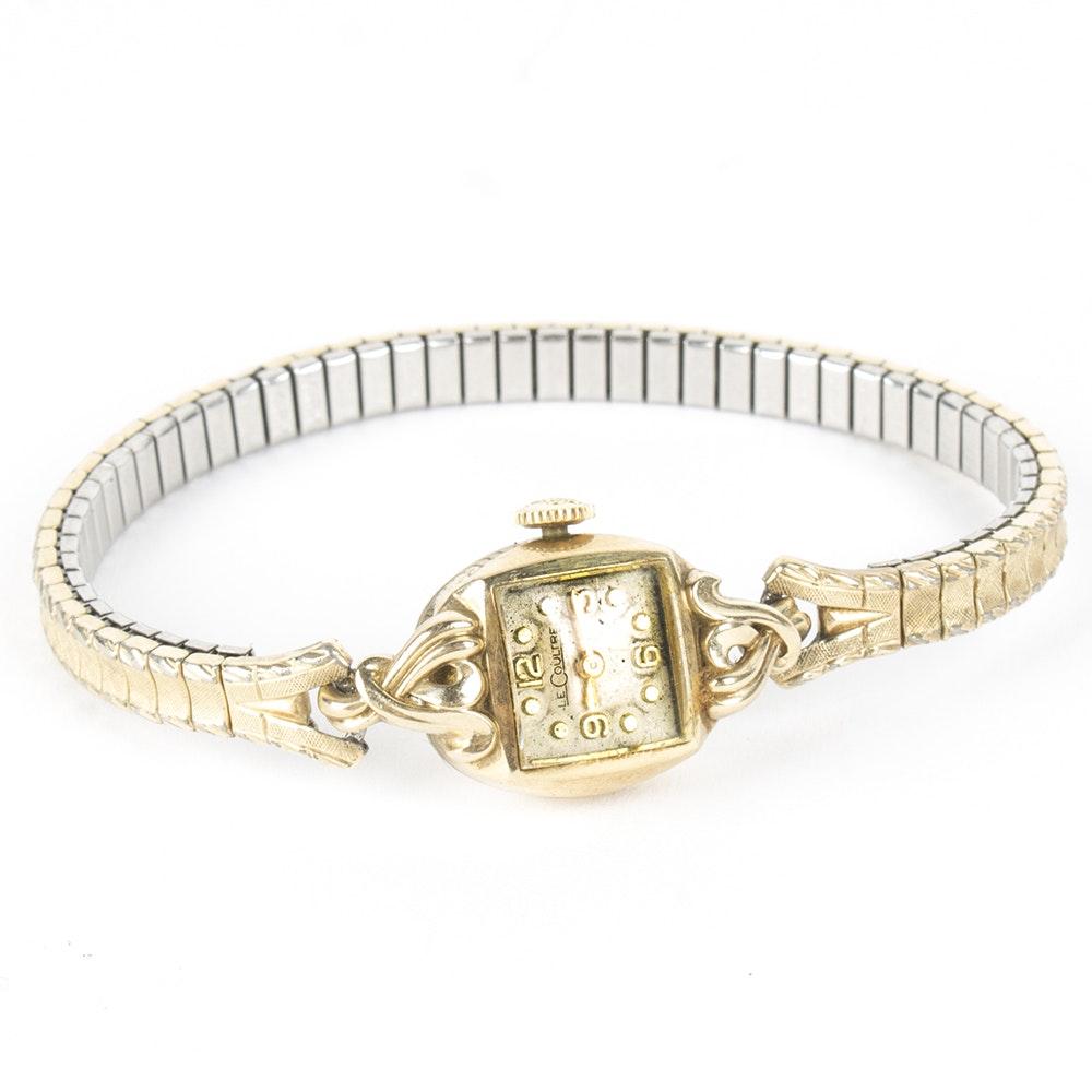 LeCoultre 10K Yellow Gold Filled Wristwatch
