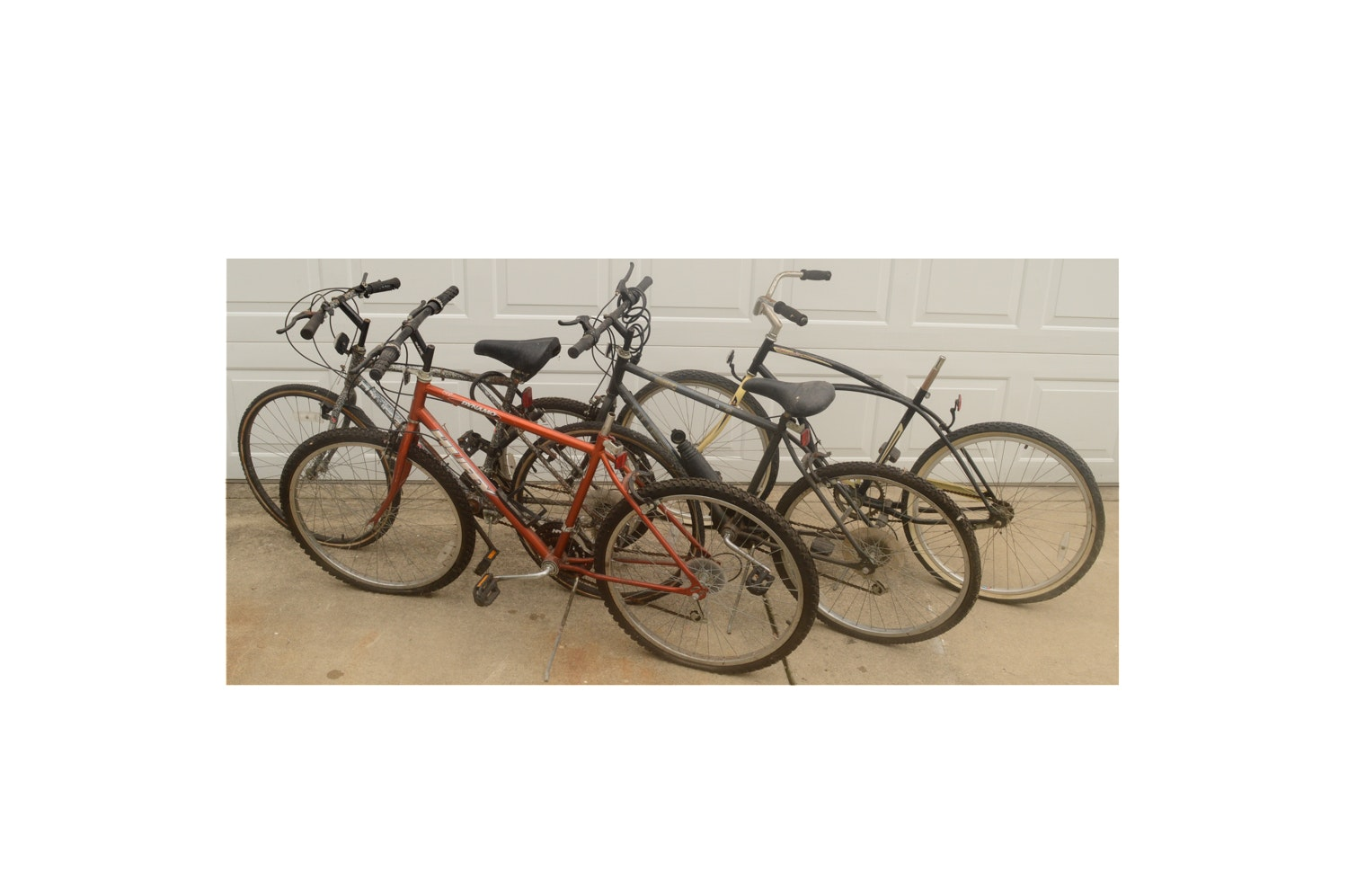 Mountain Bikes including Huffy