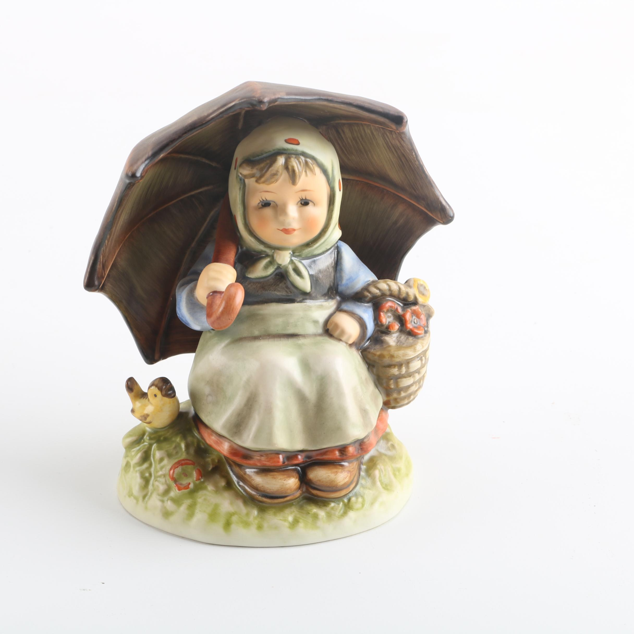 "1983 Goebel Collector's Club ""Smiling Through"" Figurine"