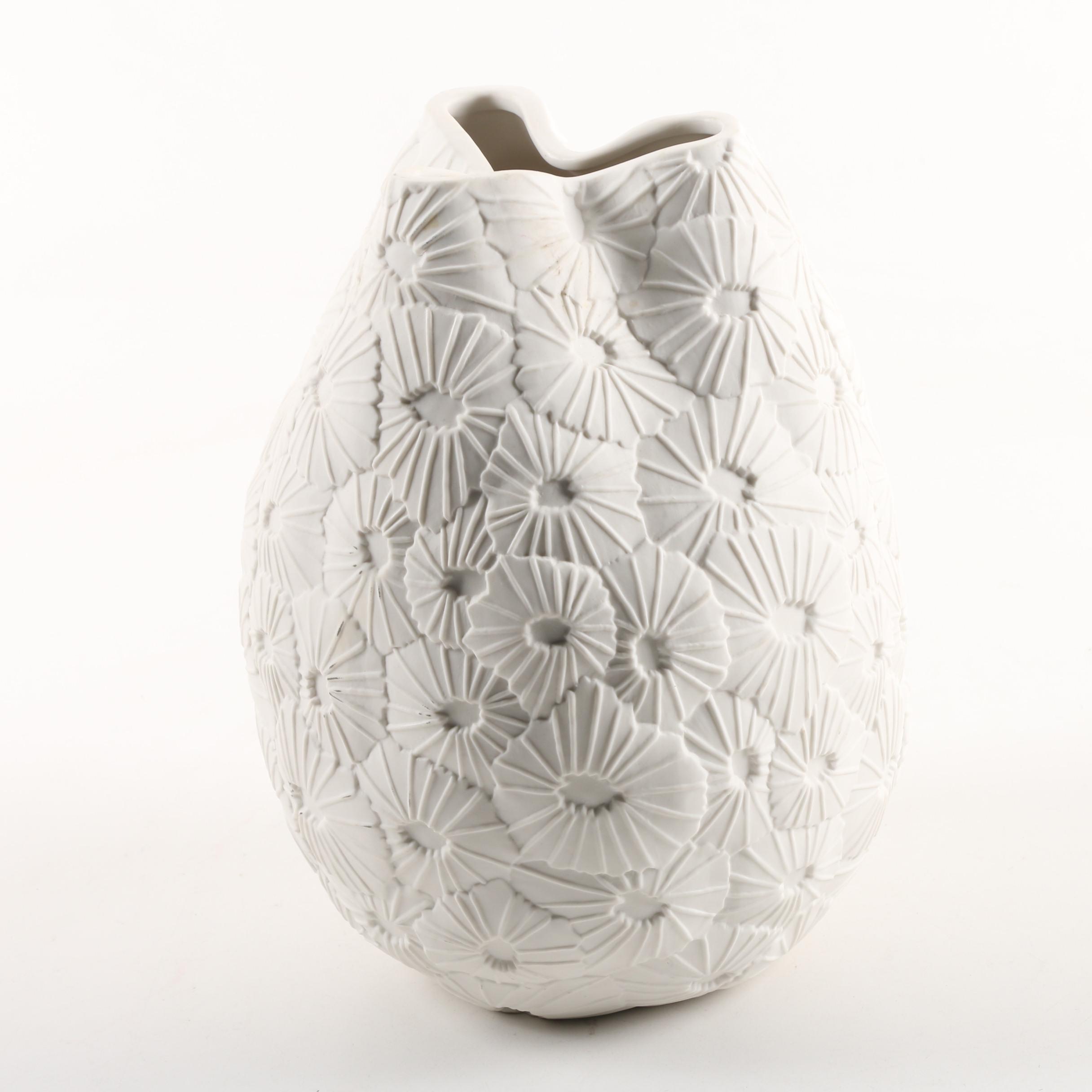 """Jonathan Adler """"Favia"""" Porcelain Vase"""