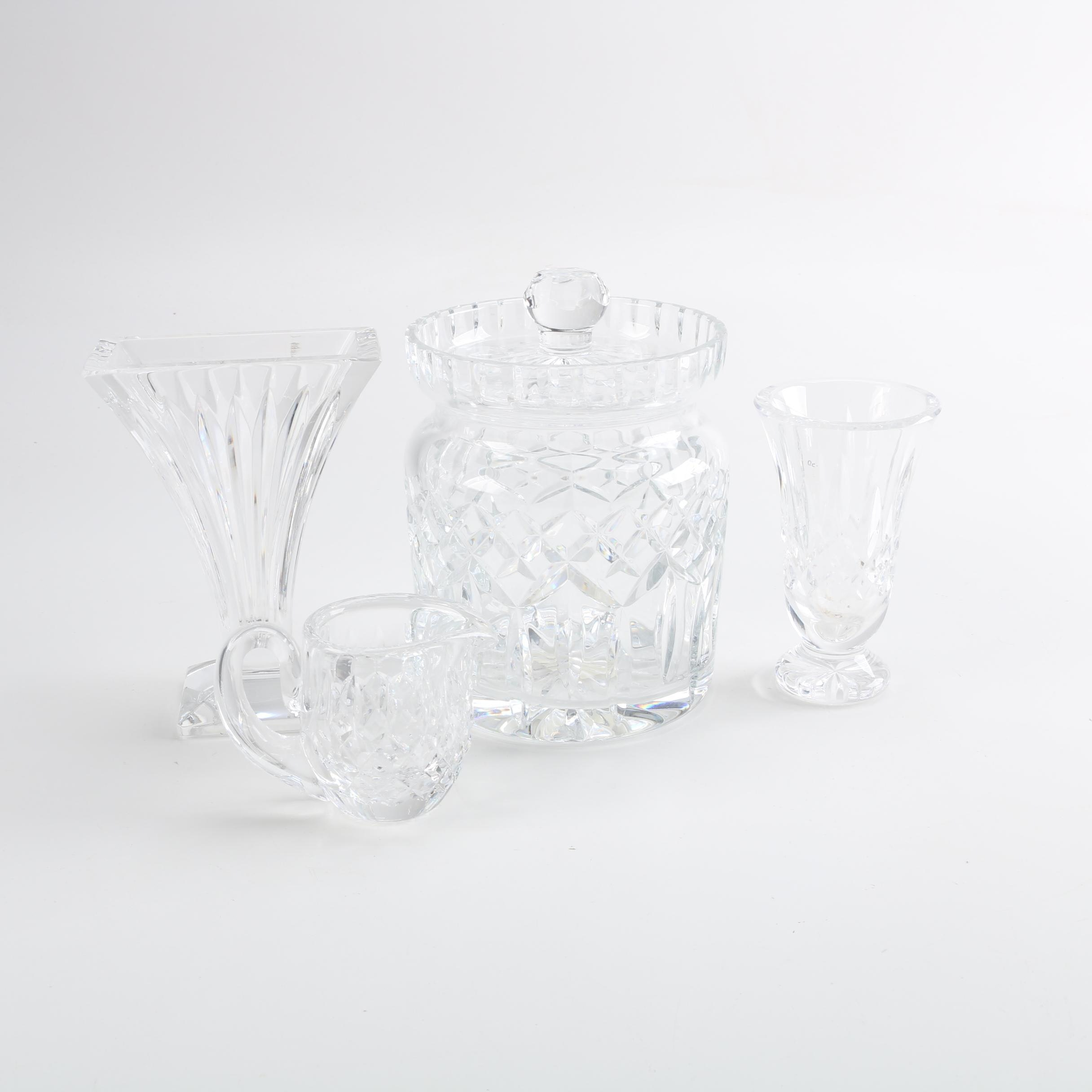 """Waterford Crystal Serveware and Vases Featuring """"Lismore"""""""
