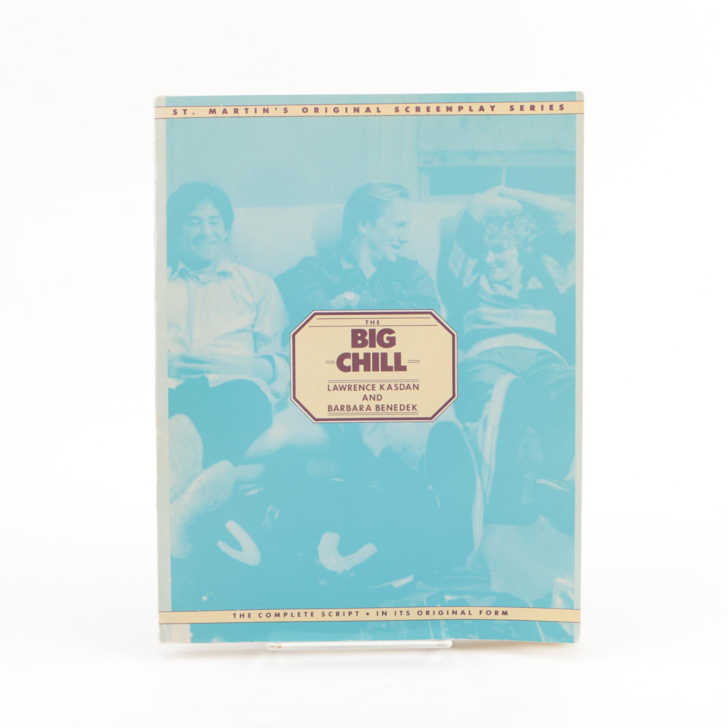 """First Edition """"The Big Chill"""" Script"""