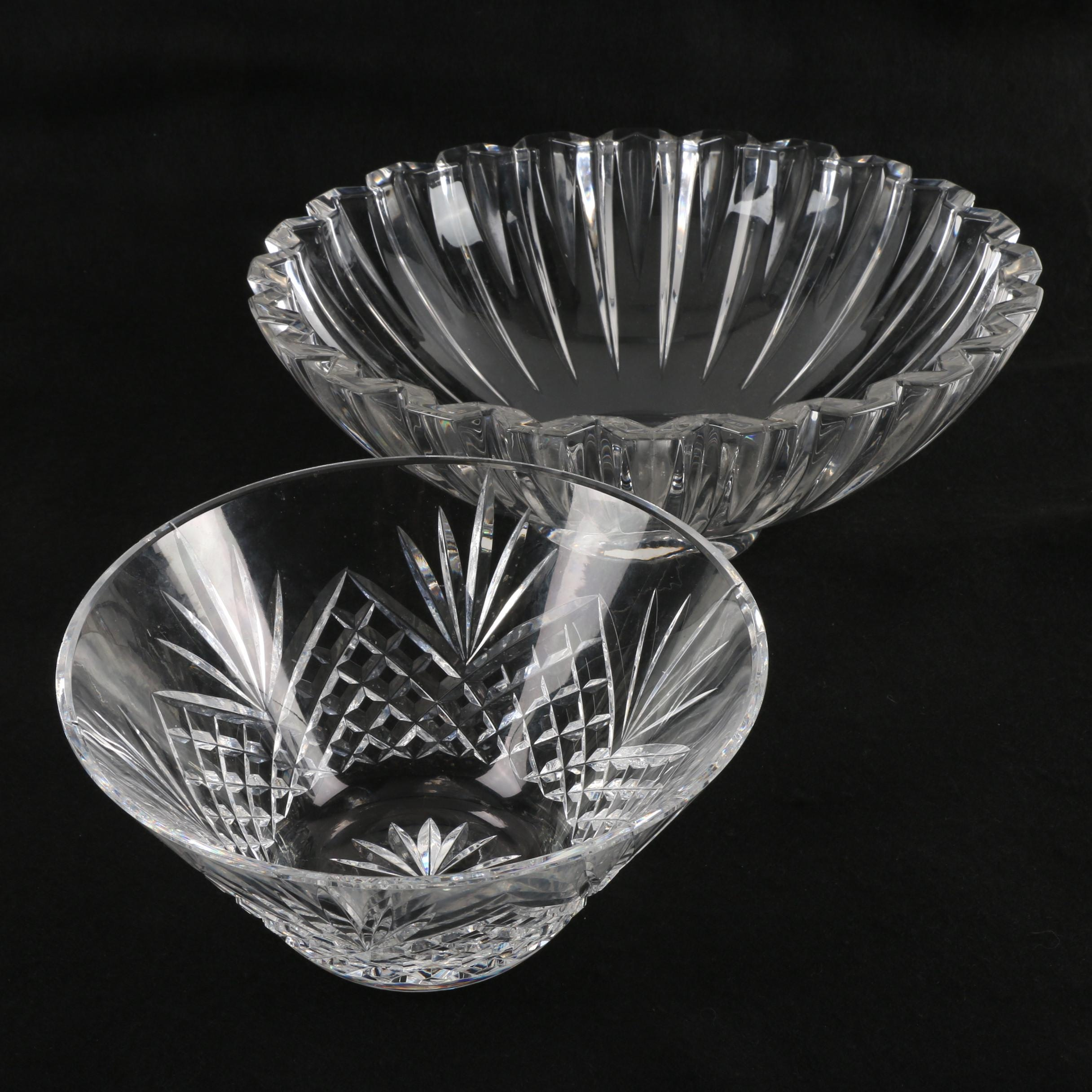 Crystal Serving Bowls Featuring Waterford Crystal