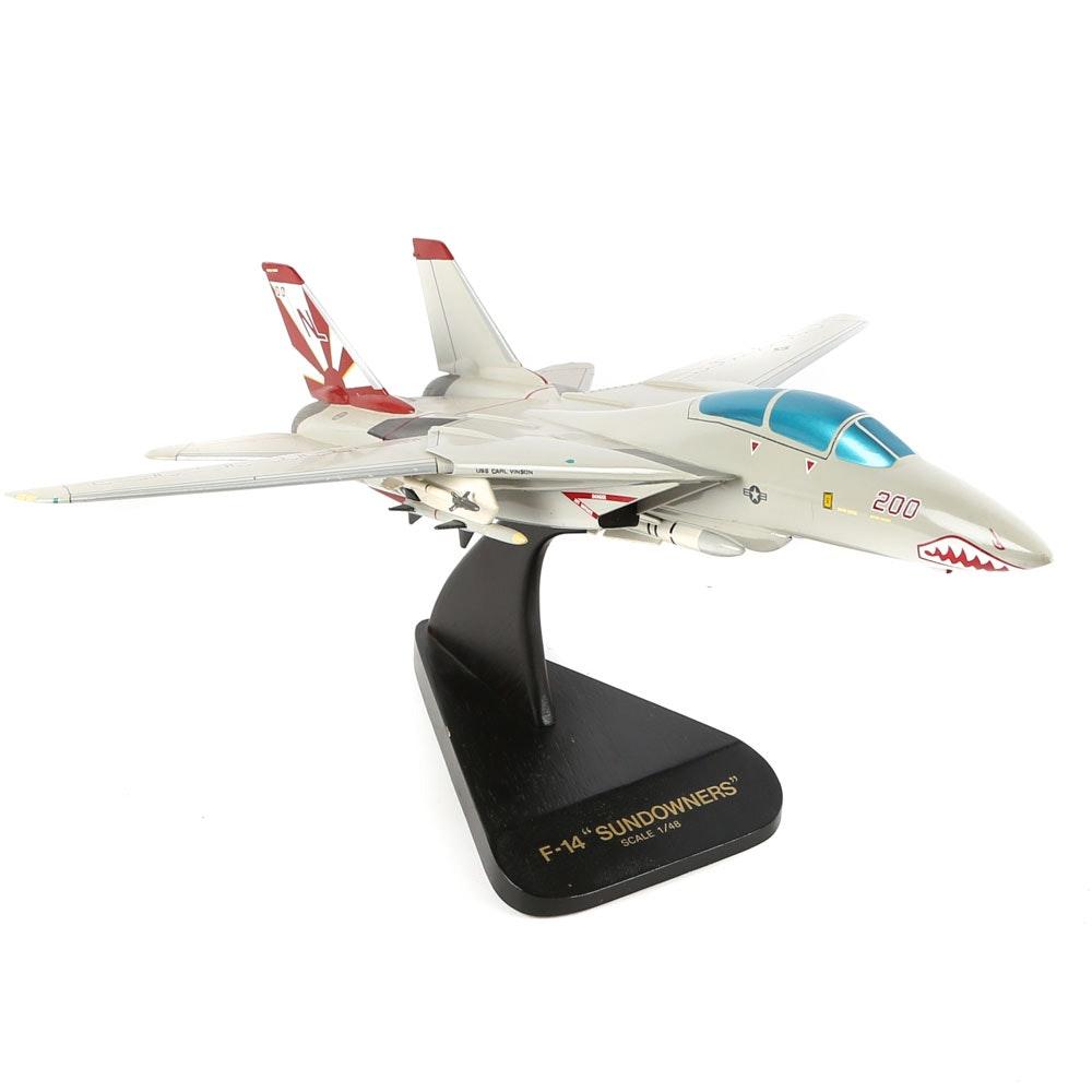 F-14 Sundowner Model Jet