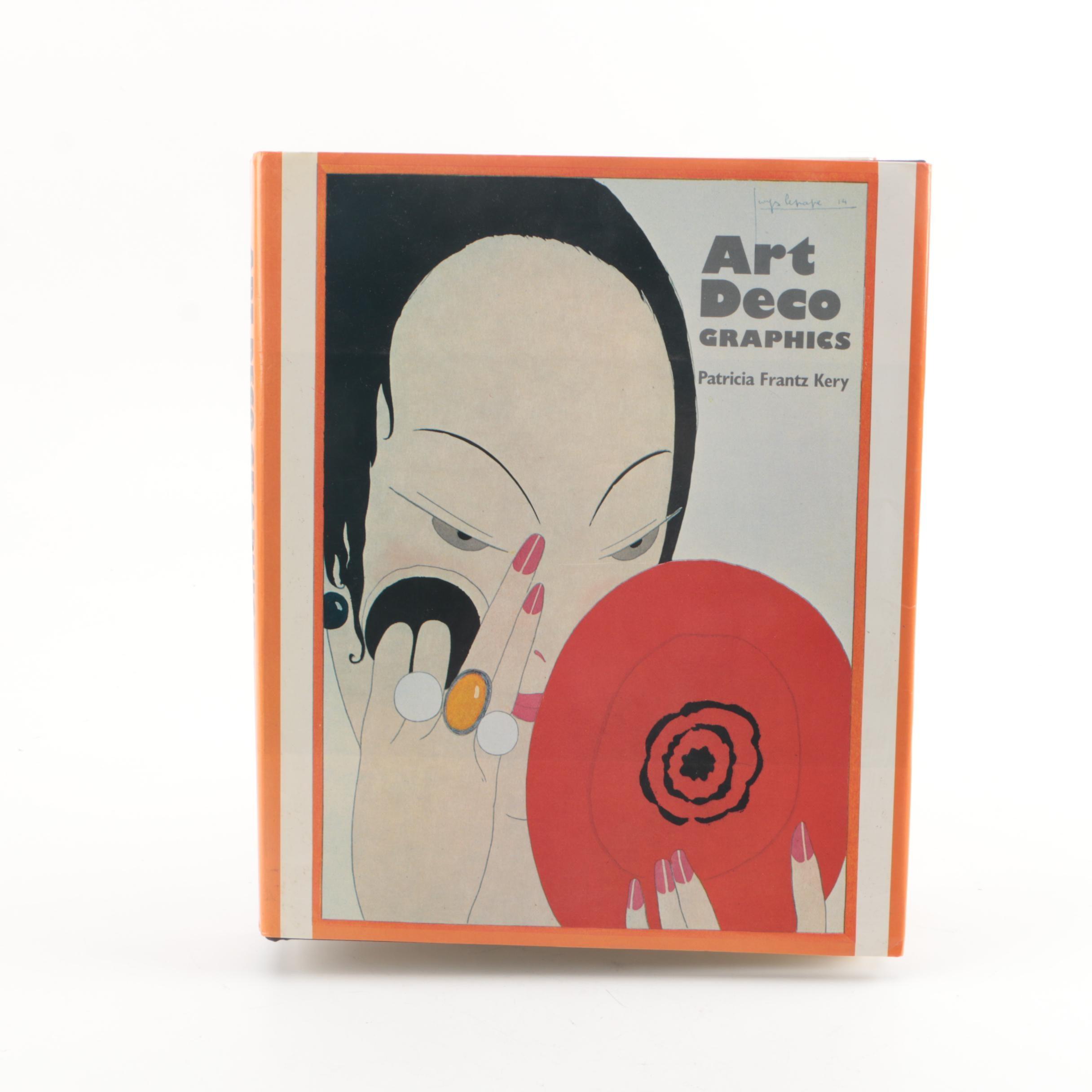 "1986 ""Art Deco Graphics"" by Patricia Frantz Kery"