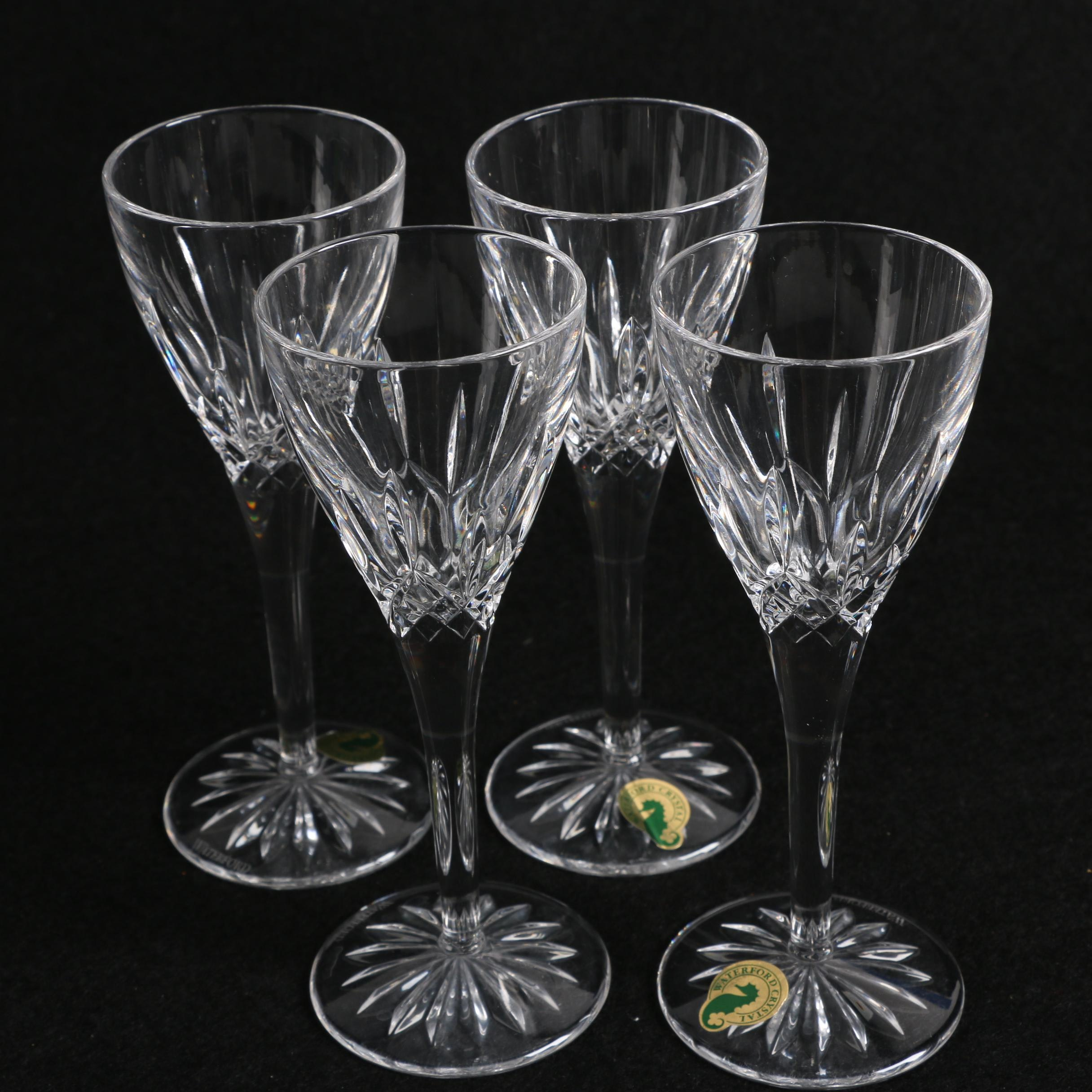 "Waterford Crystal ""Lismore"" Cordial Glasses"
