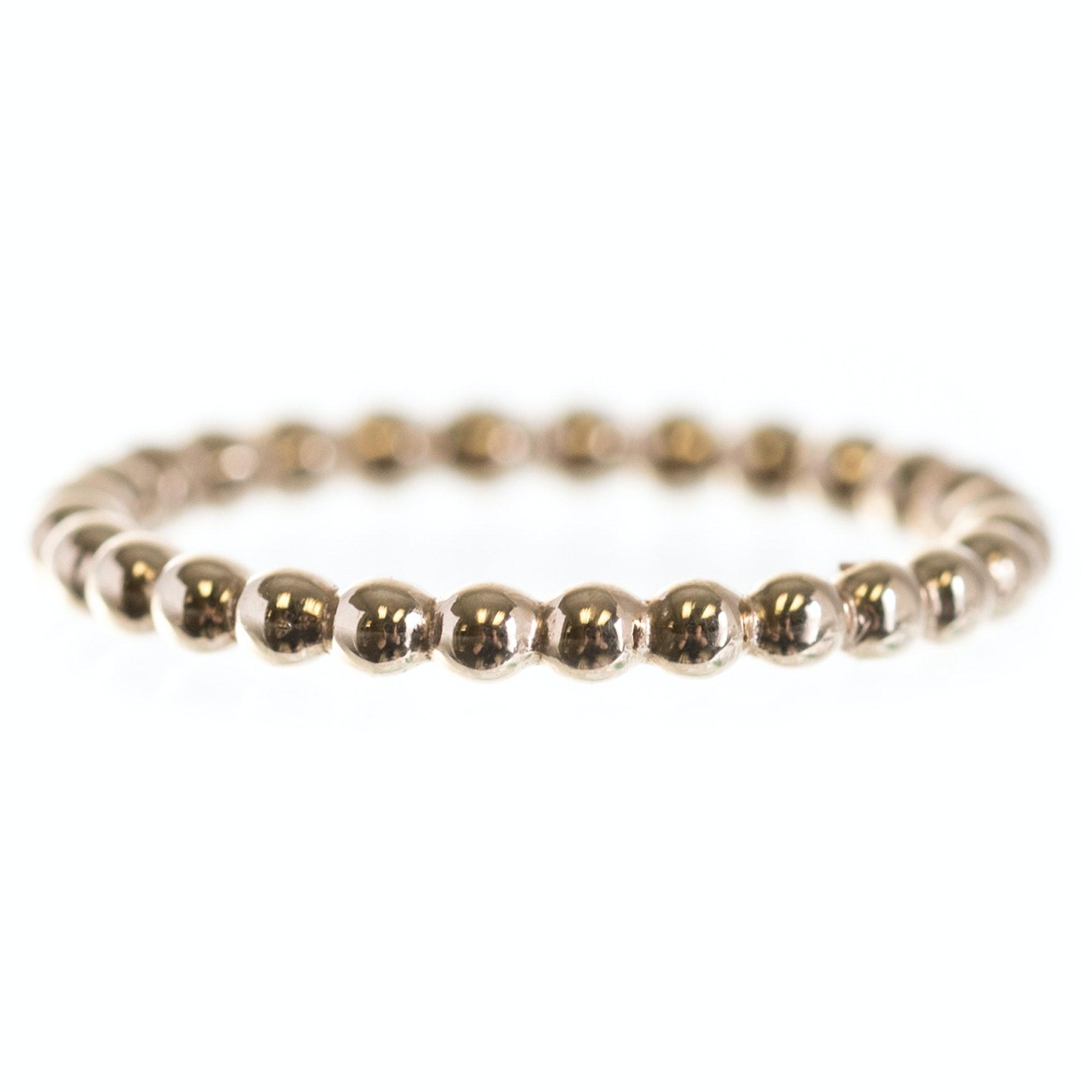 Pandora 14K Yellow Gold Bead Ring