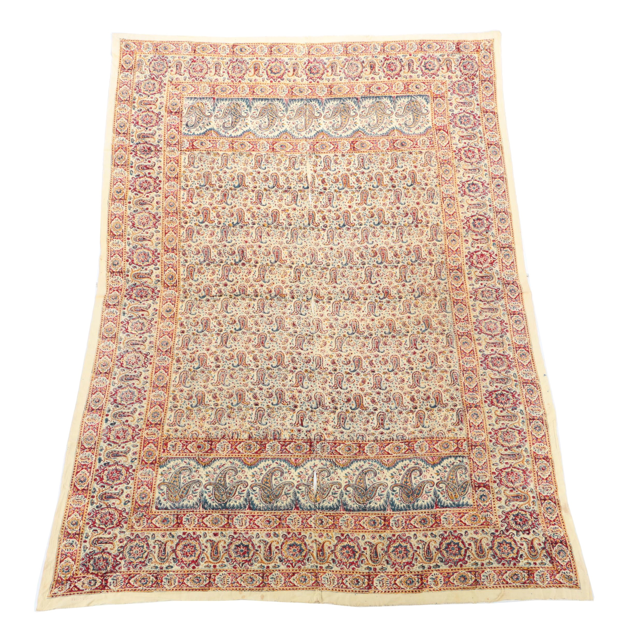 Printed Indian Paisley Tablecloth