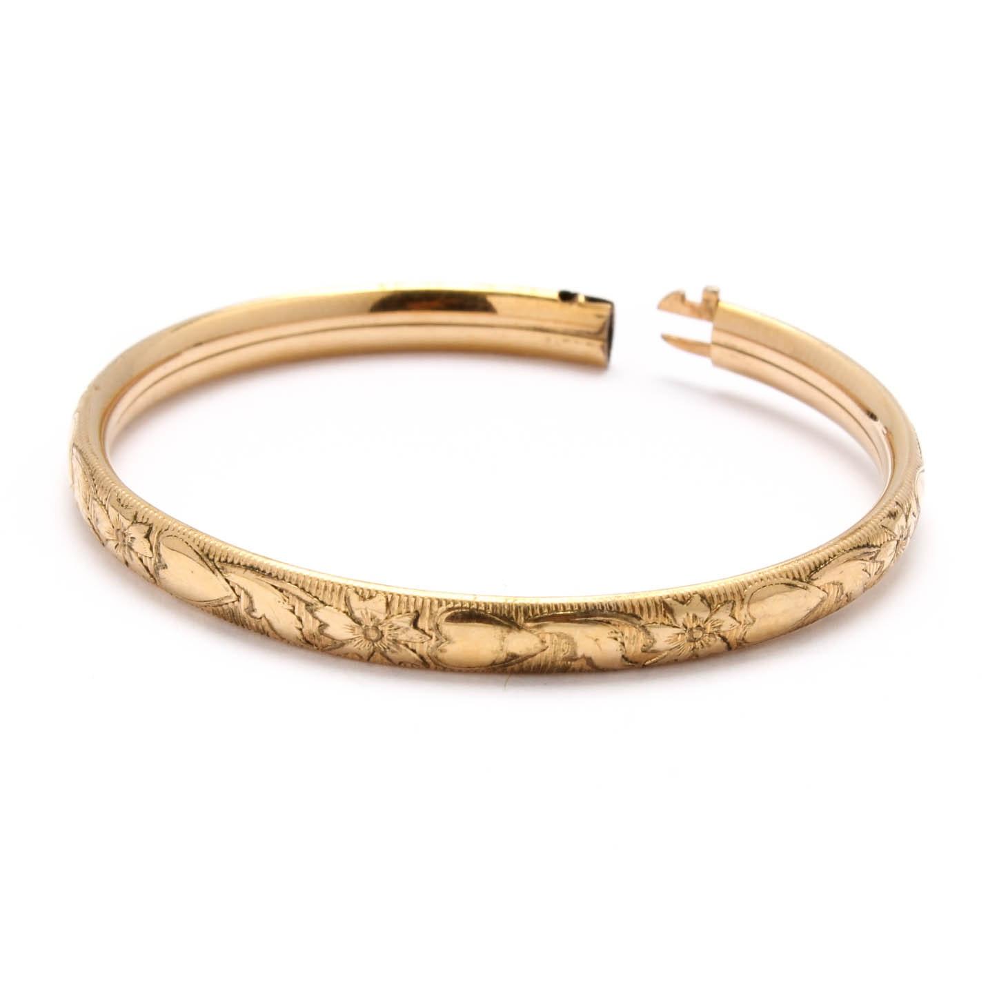 14K Yellow Gold Filled Bracelet