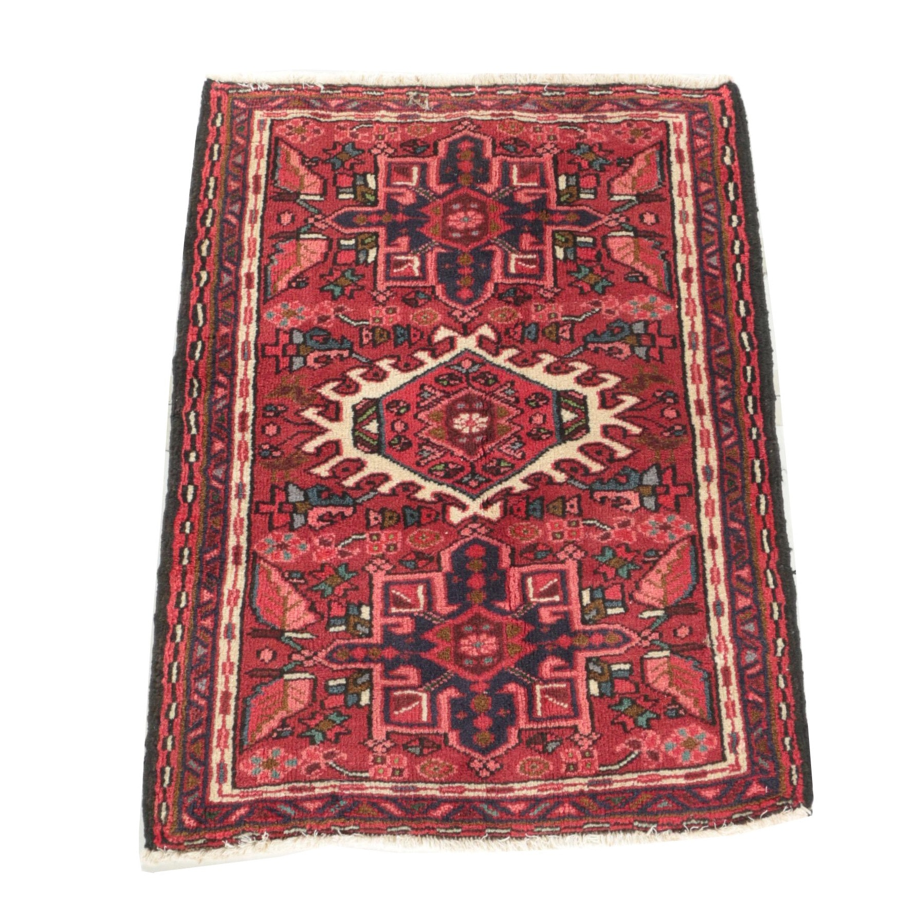 """Hand-Knotted Persian """"Garaja"""" Accent Rug"""