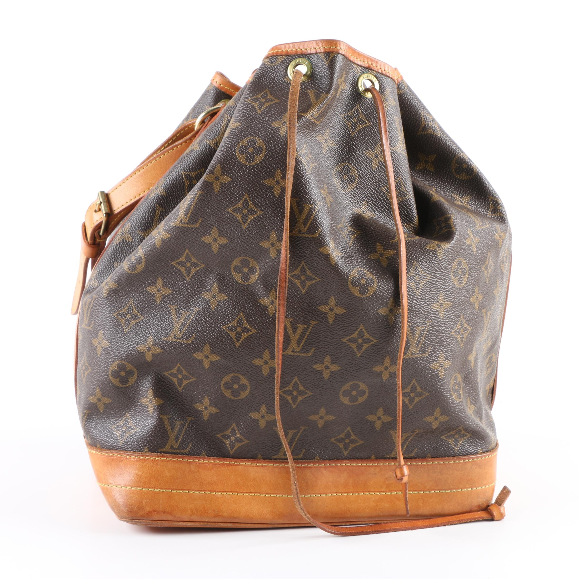 Louis Vuitton of Paris Monogram Noé Bag