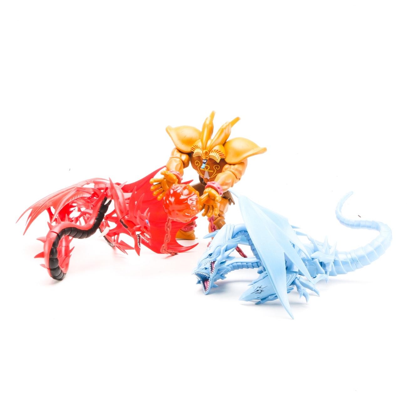 "Group of ""Yu-Gi-Oh"" Action Figures"