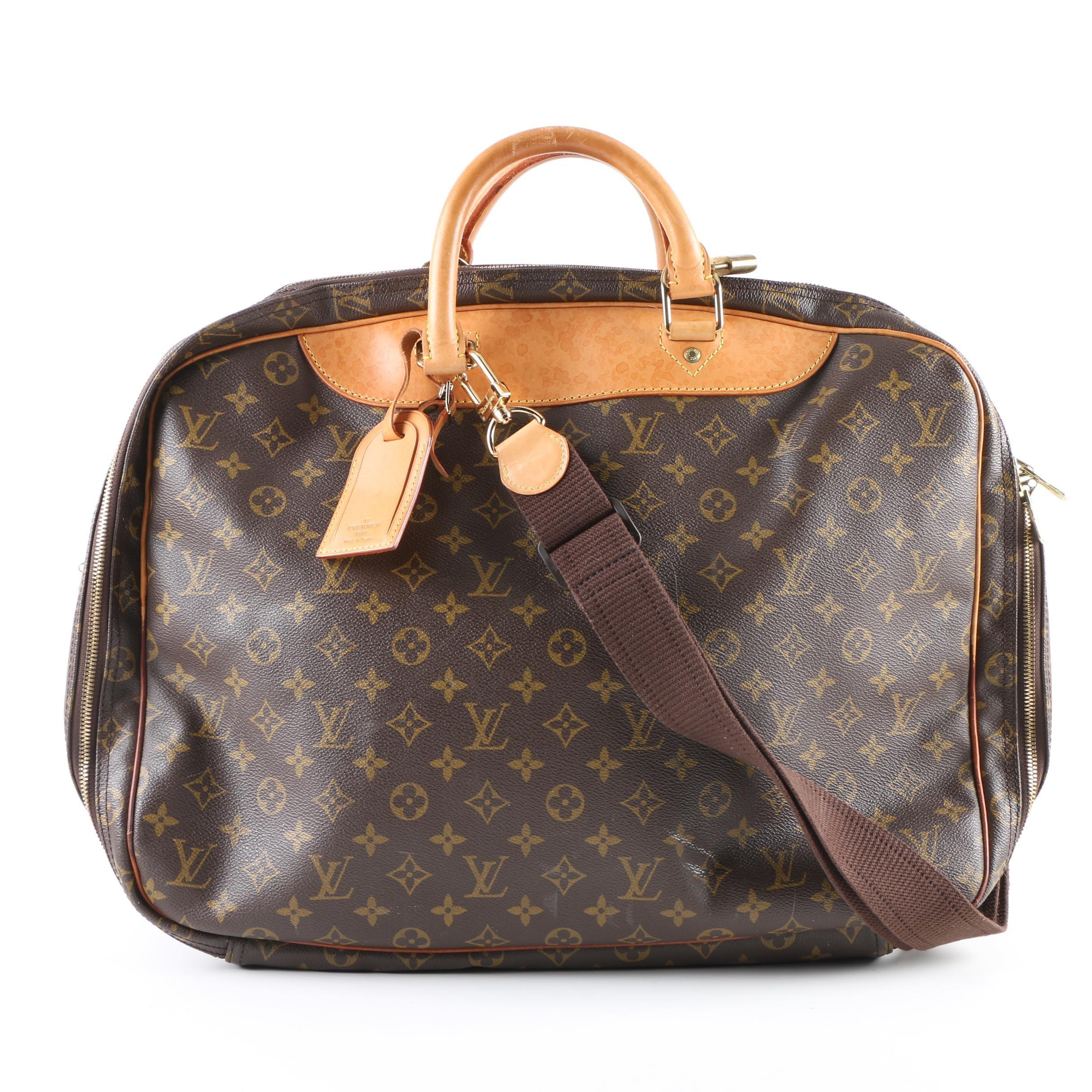 1996 Louis Vuitton of Paris Monogram Coated Canvas Weekender Bag