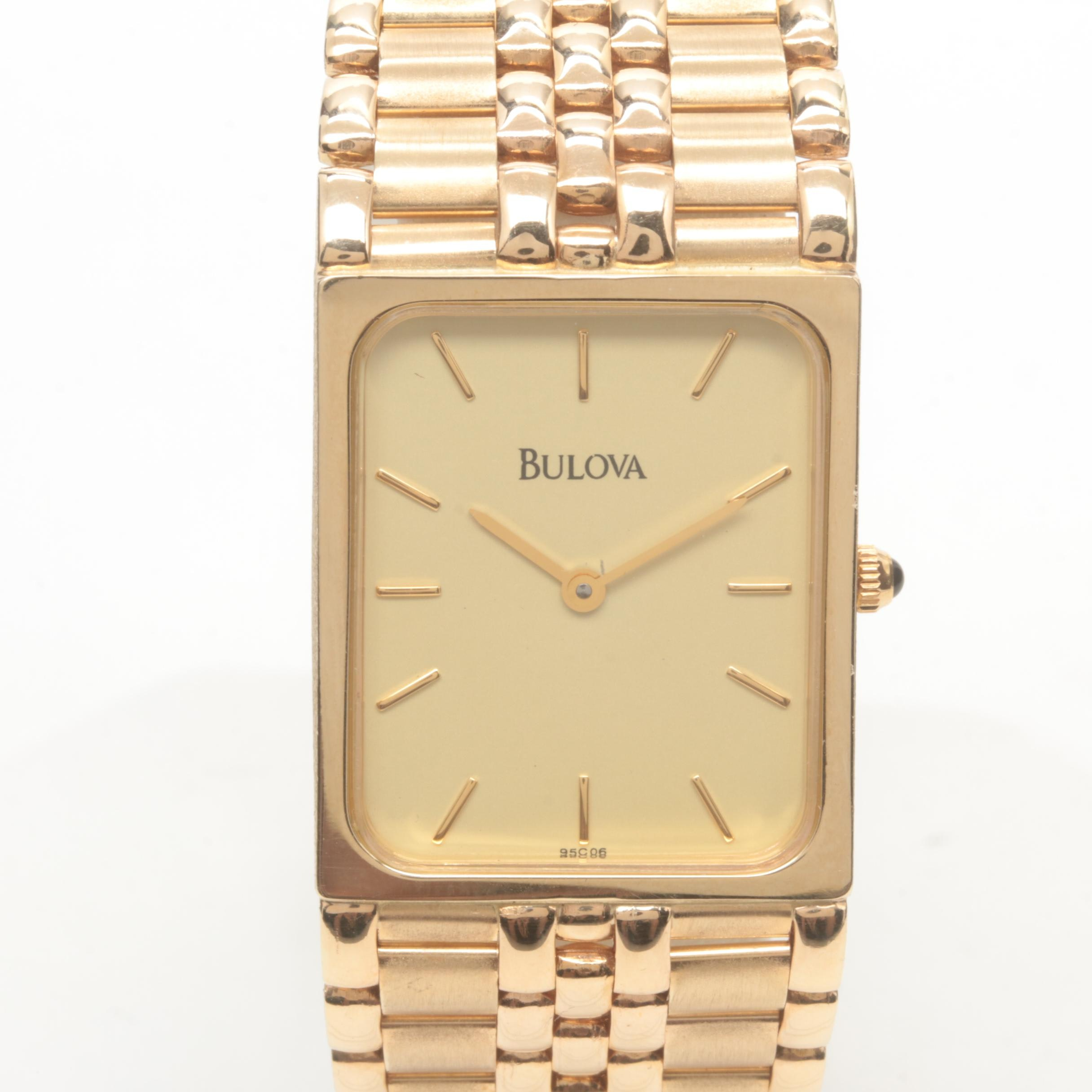 Bulova 14K Yellow Gold Wristwatch