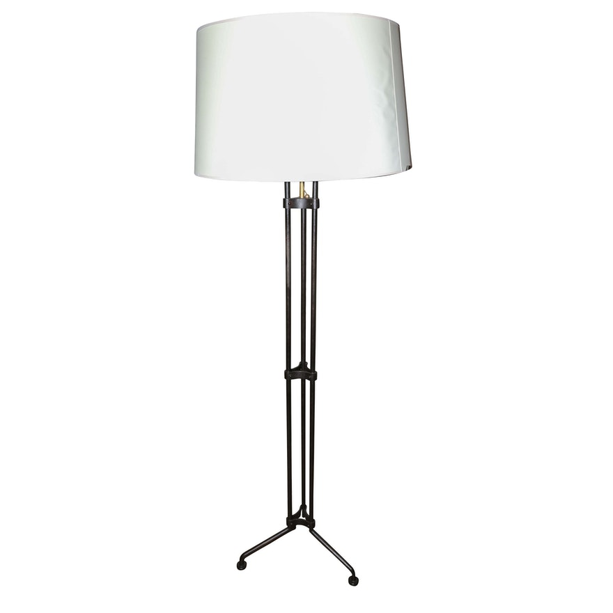 E F Chapman Terrazo Tri Leg Metal Floor Lamp From Circa Lighting