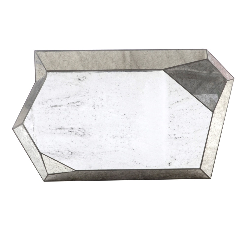 Decorative Faceted Wall Mirror
