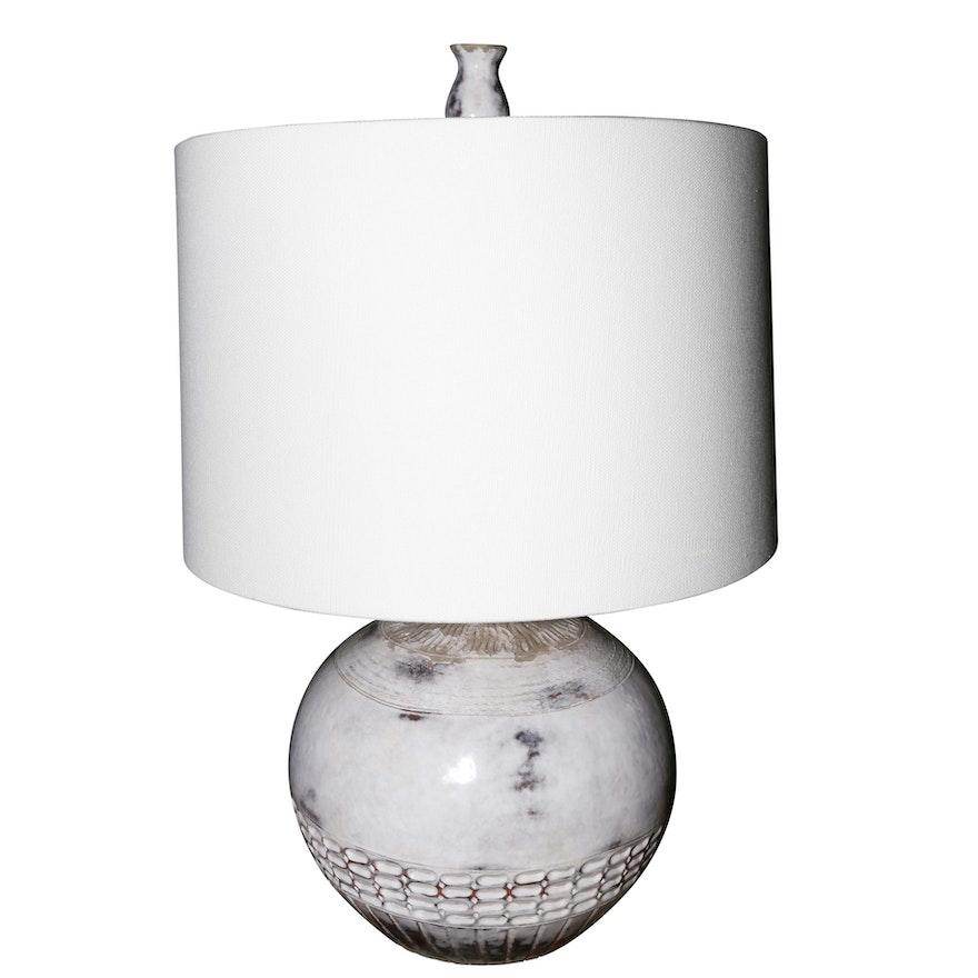 The natural light amuleto ceramic table lamp with sail cloth shade the natural light amuleto ceramic table lamp with sail cloth aloadofball Images