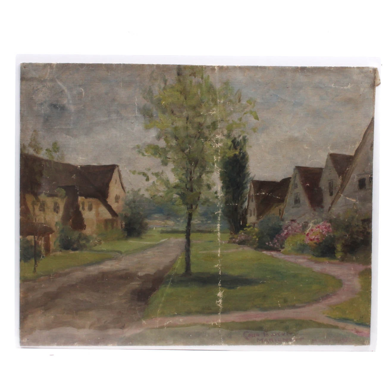 Signed Conn Baker Oil on Canvas Painting