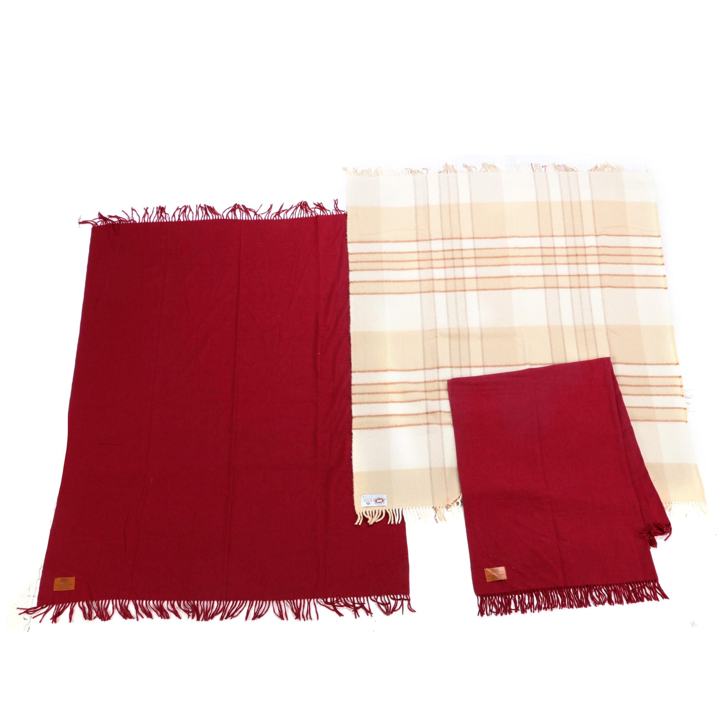 Compagnia Lane Preziose Merino Wool Blankets