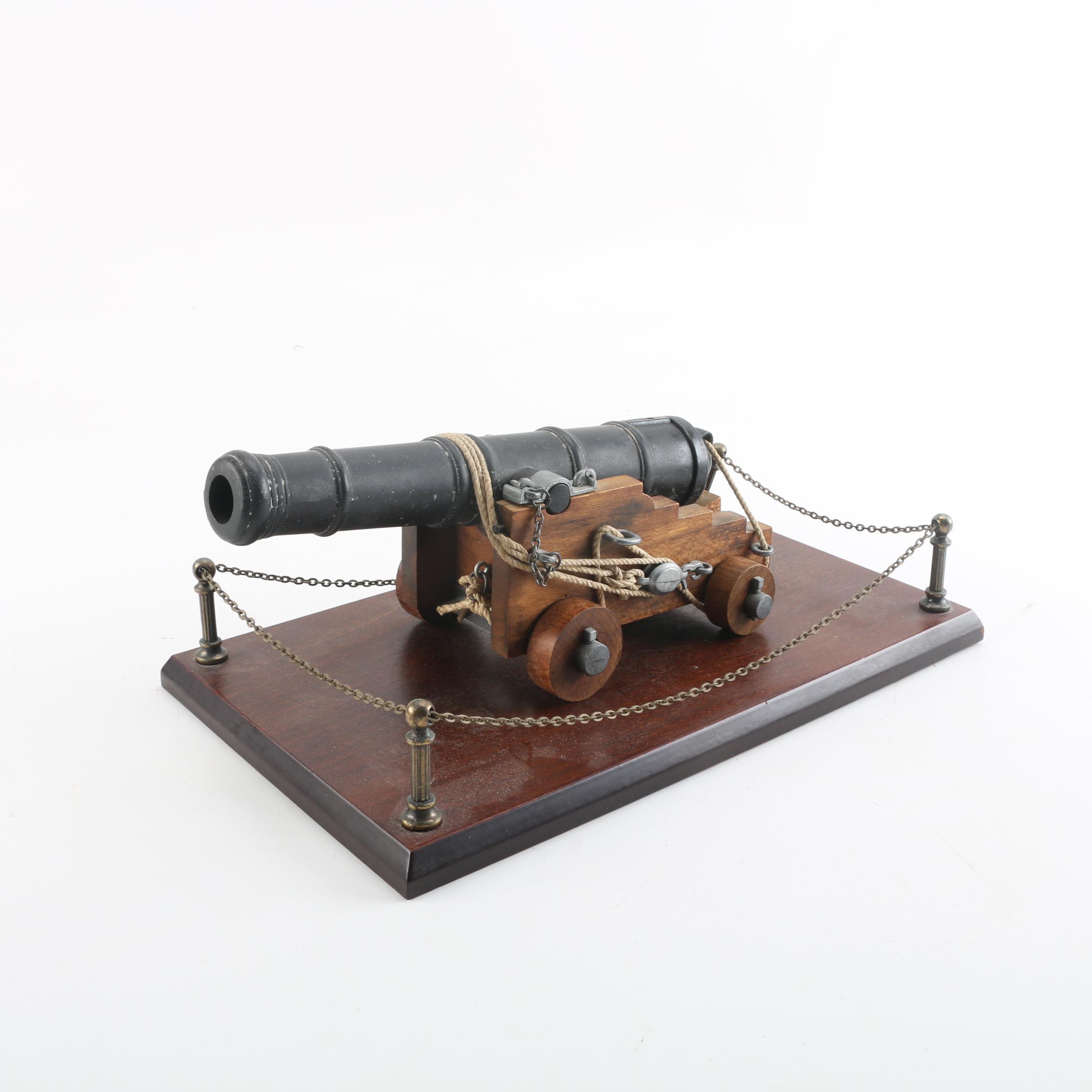 Model Cannon Figurine