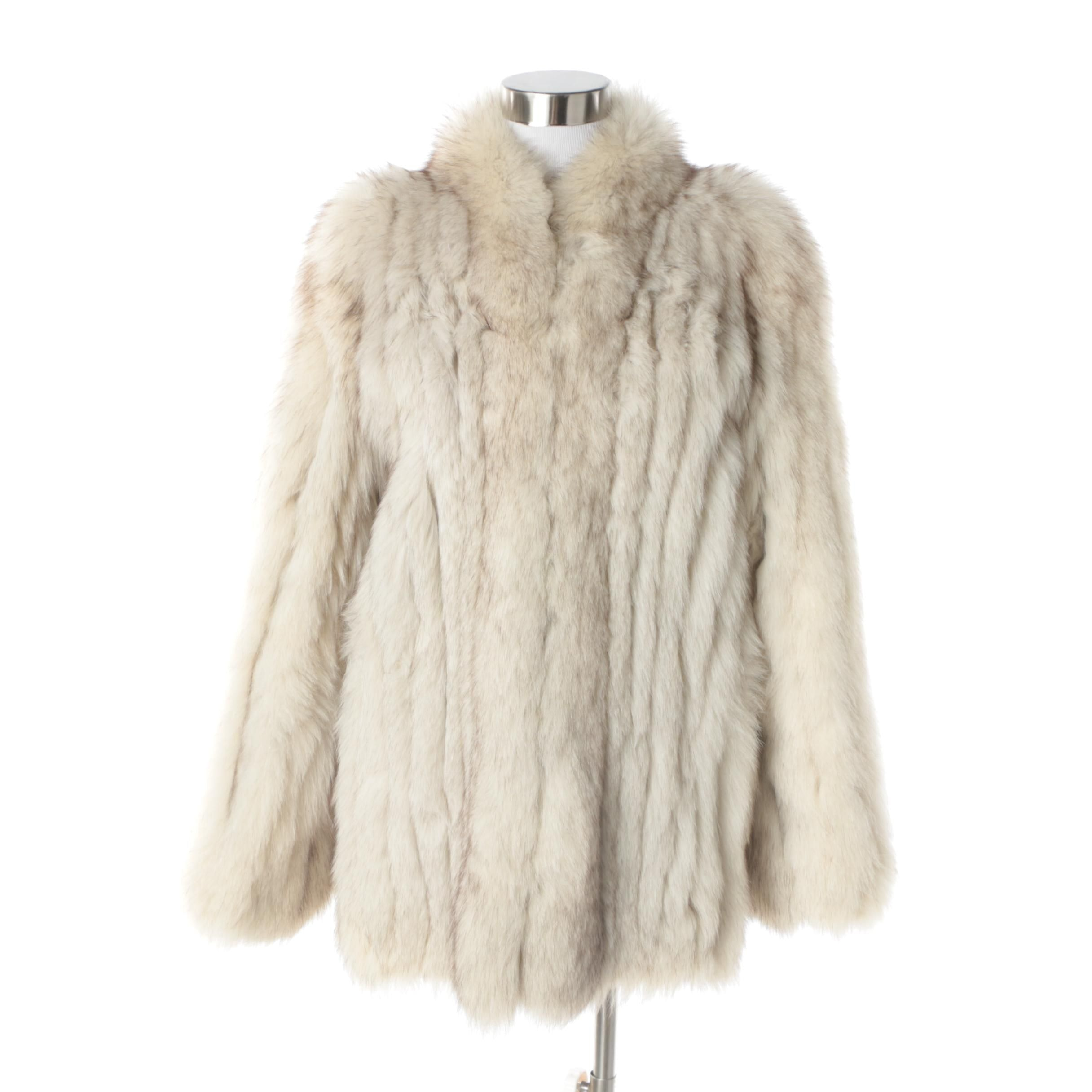 Women's Vintage Bricker-Tunis Furriers Saga Fox Fur Coat