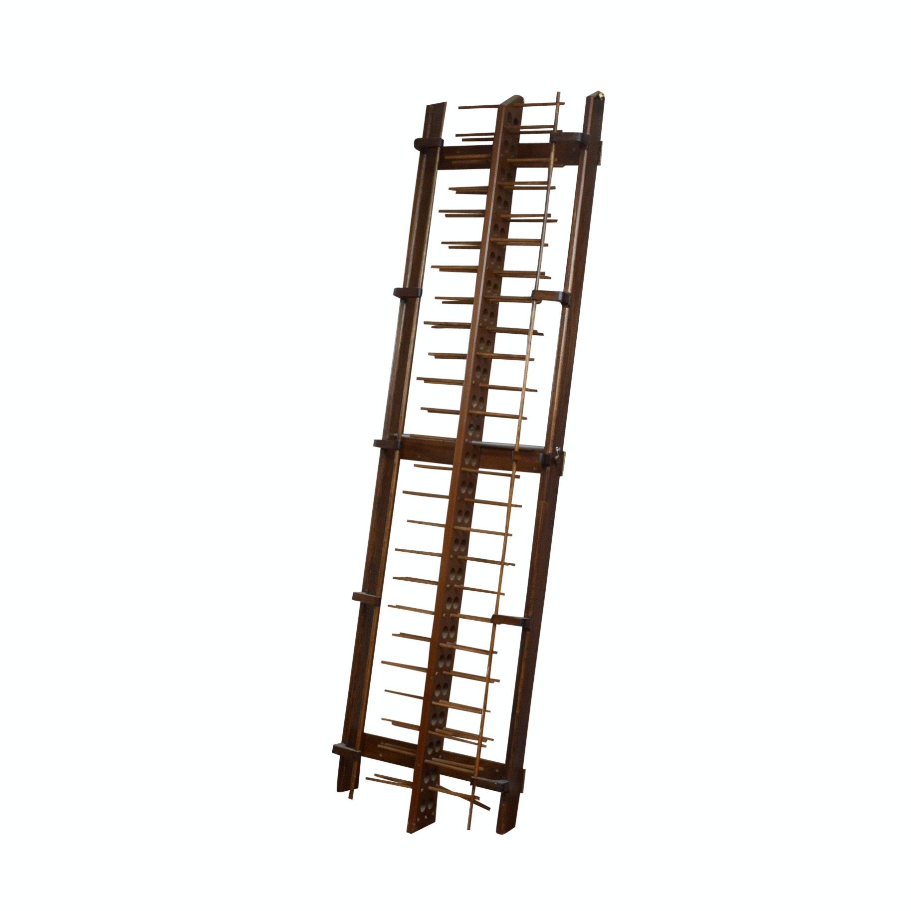 Antique Wooden Ladder Skein Holder