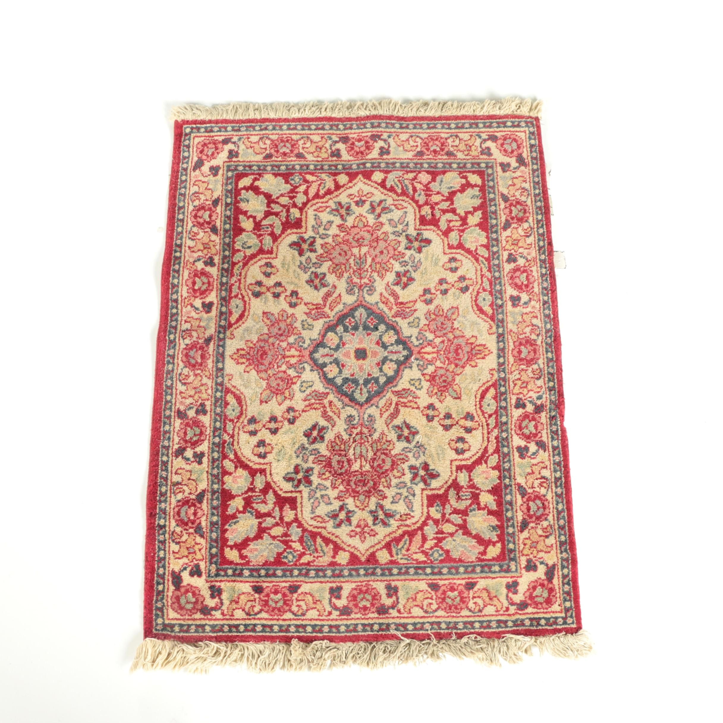Power Loomed Indo-Persian Wool Accent Rug