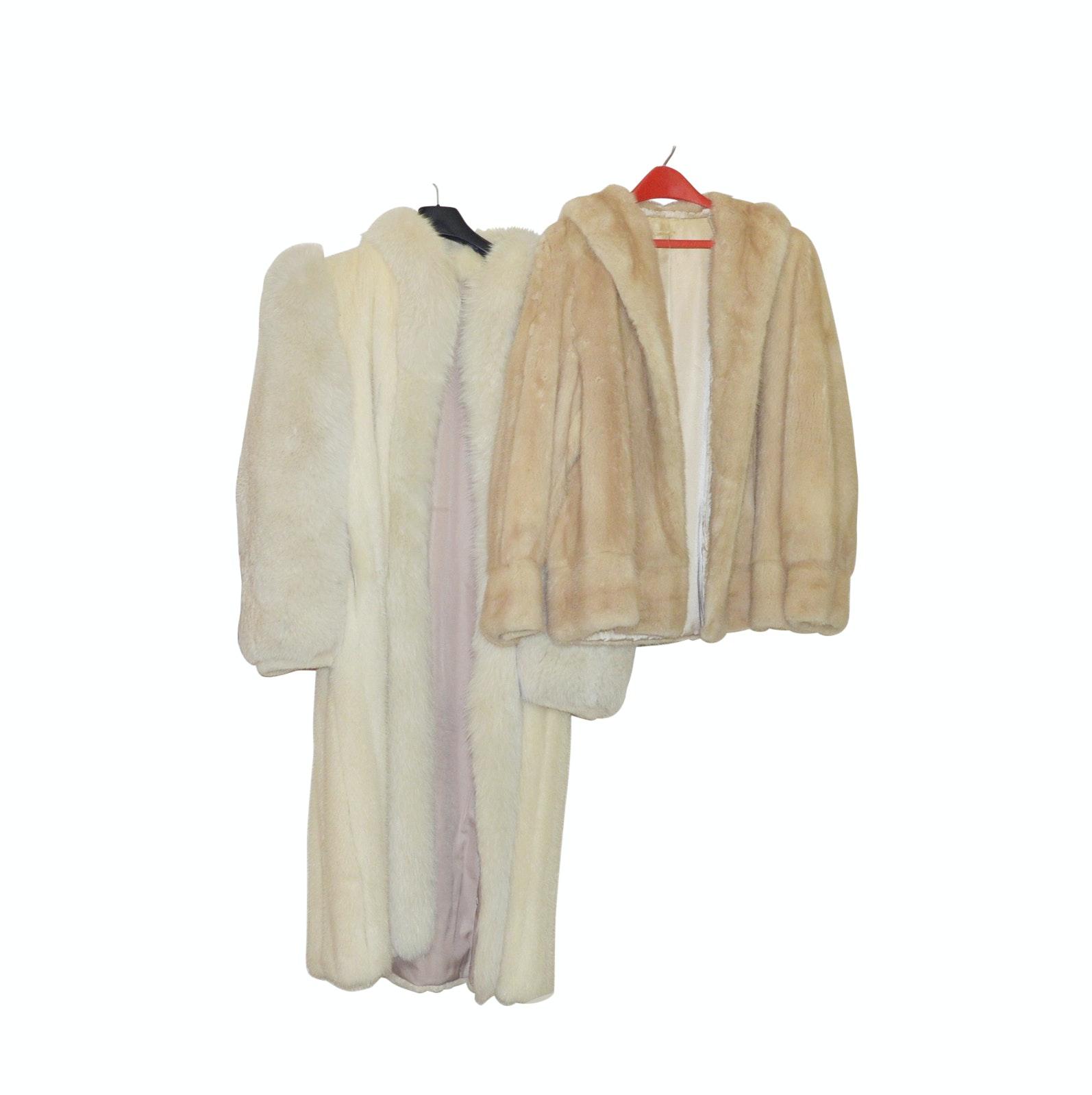 Pair of Mink Coats