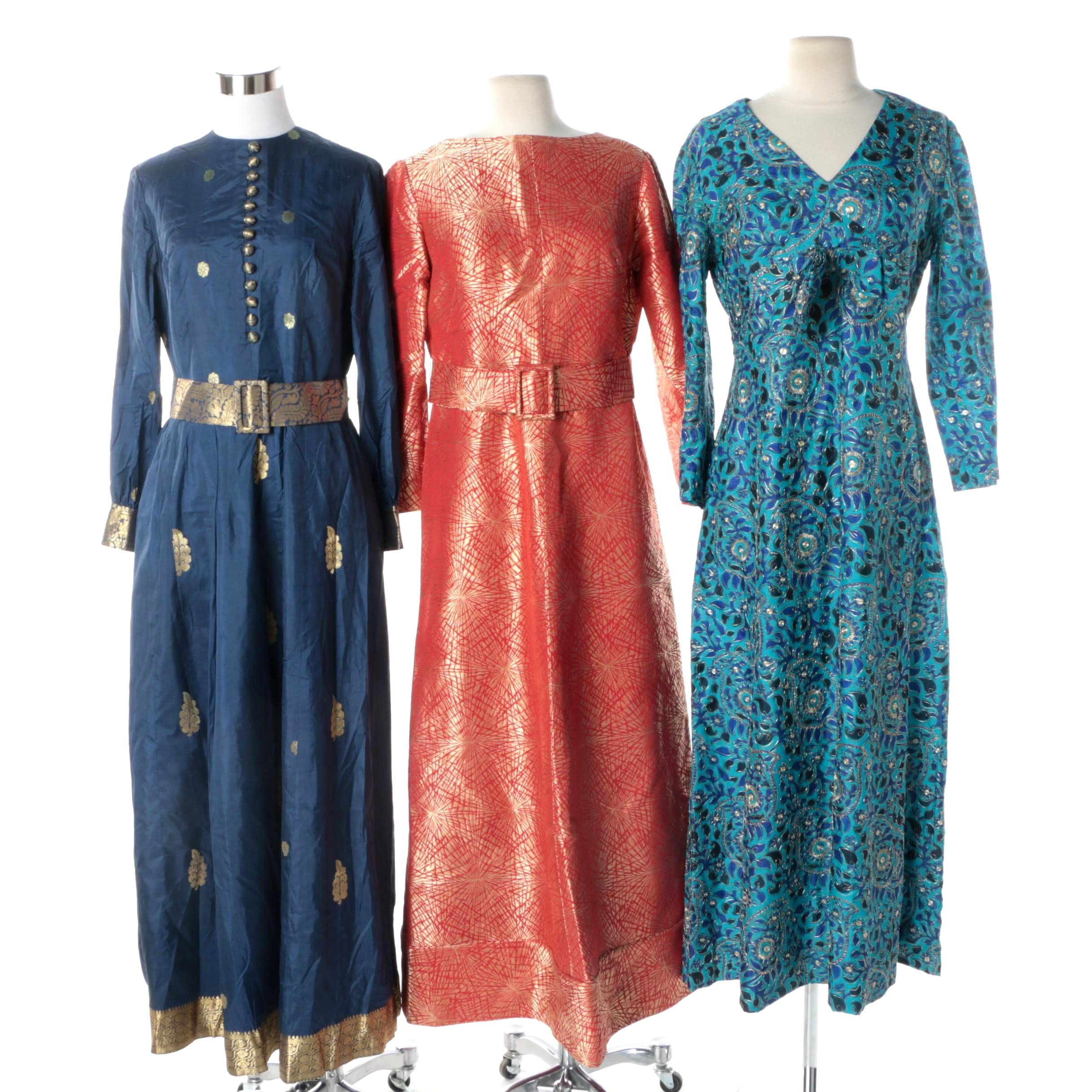 Women's Indian-Inspired Silk Dresses