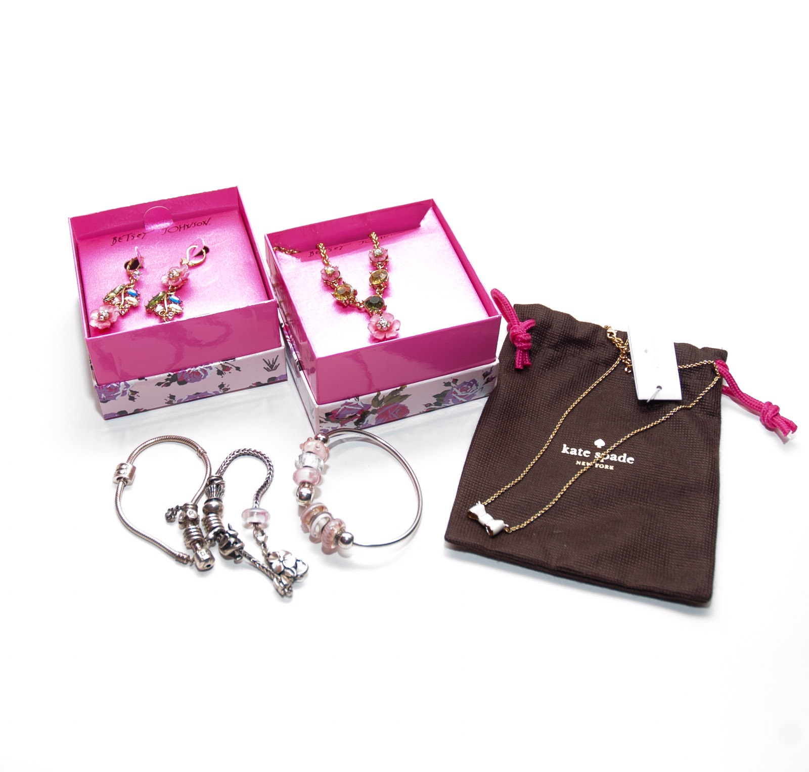 Assortment of Jewelry Including Betsey Johnson and Kate Spade