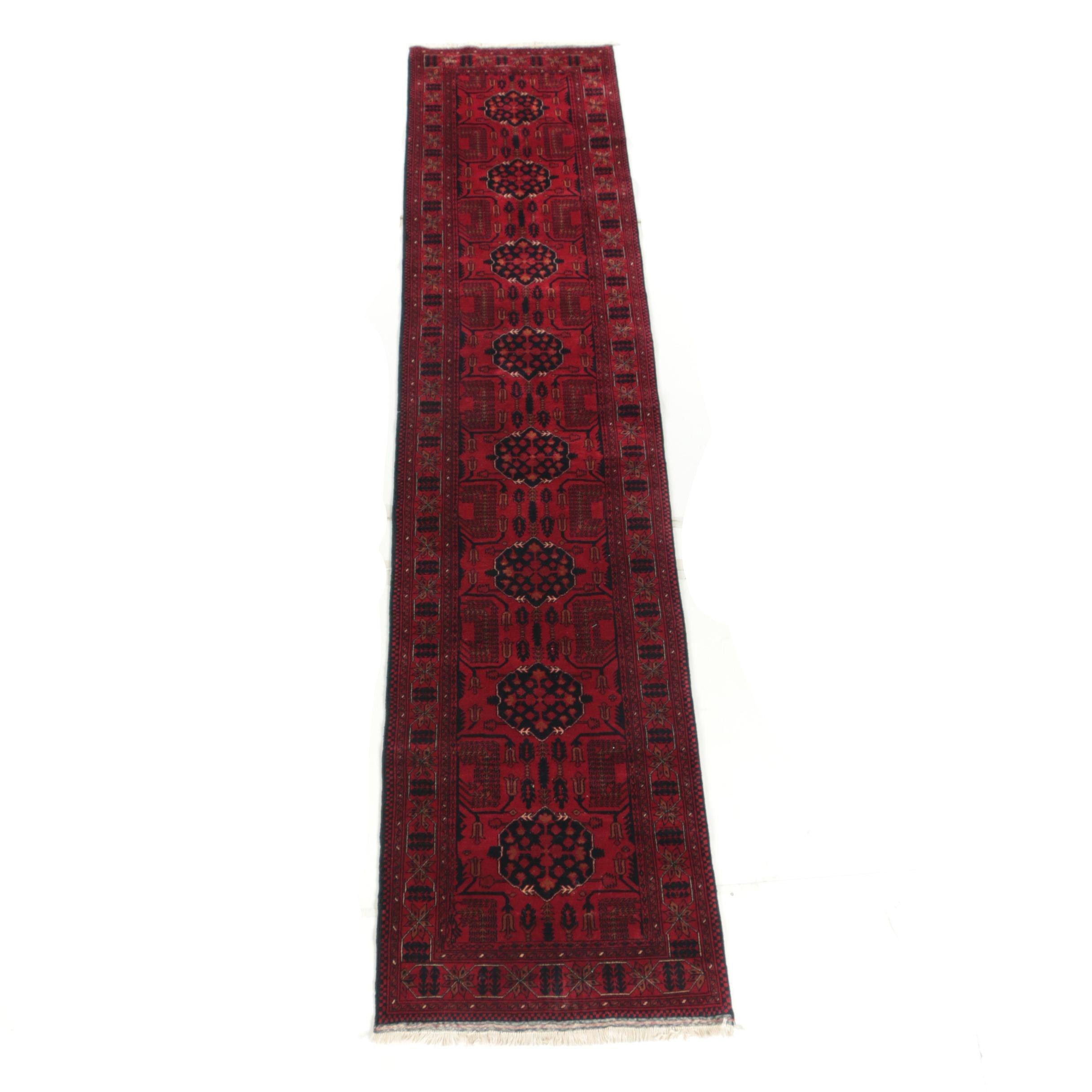 Power Loomed Turkish Birecik Wool Carpet Runner by Yüksel Hale