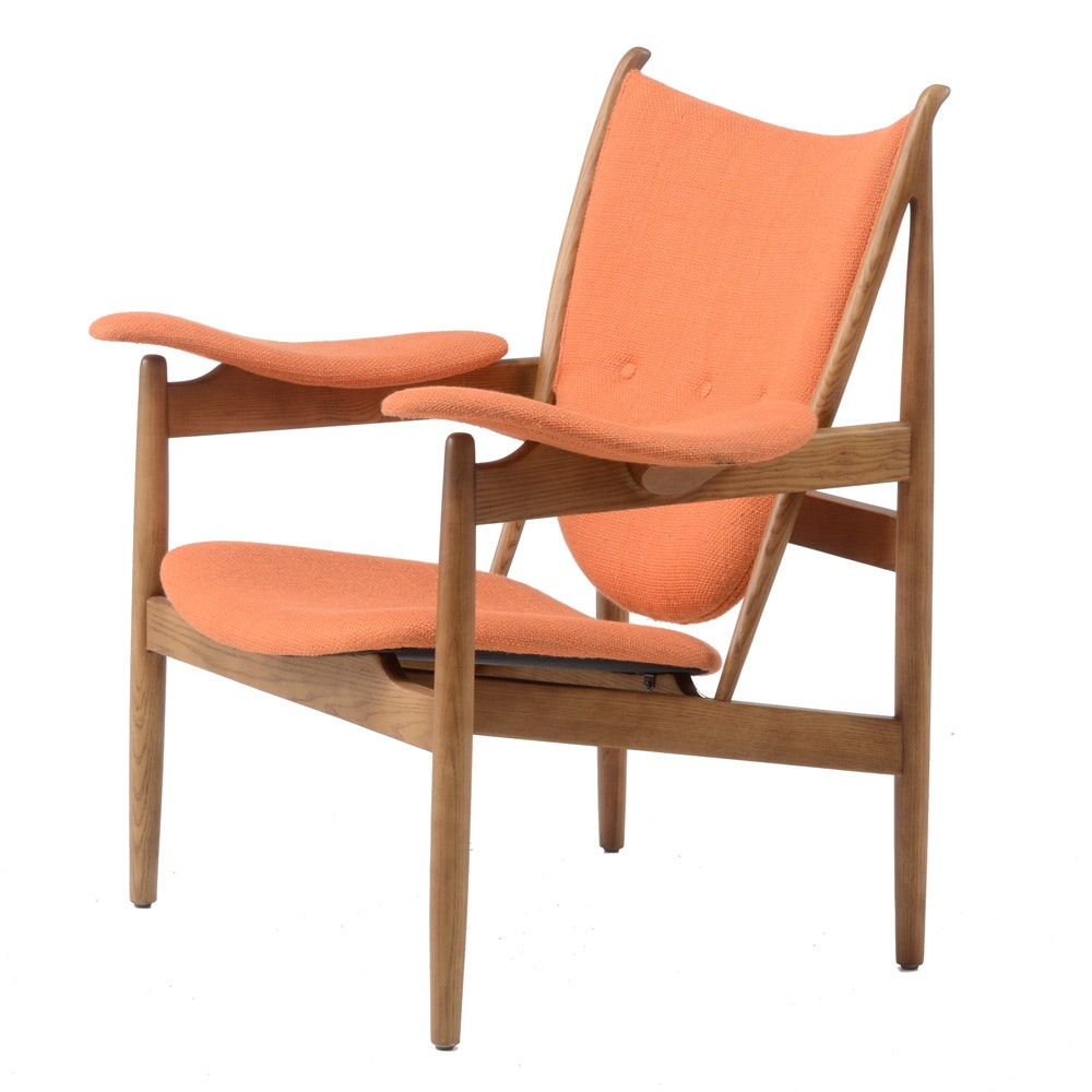 Danish Modern Armchair After Finn Juhl