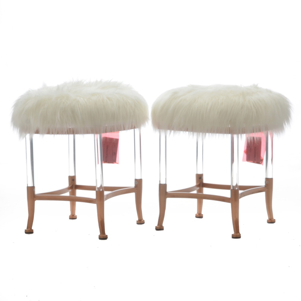 Pair of Modernist Stools