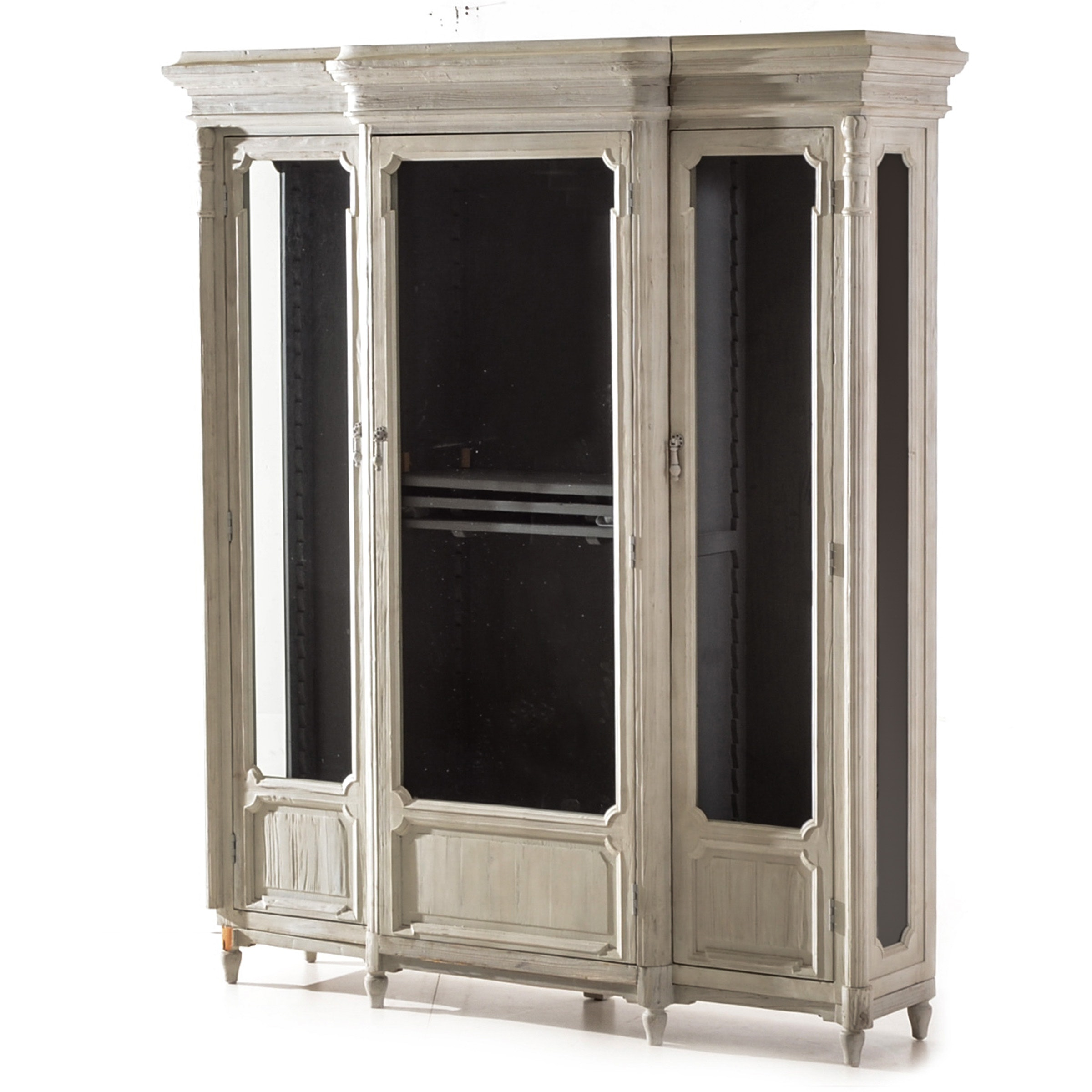 Chantilley French Style Breakfront Cabinet