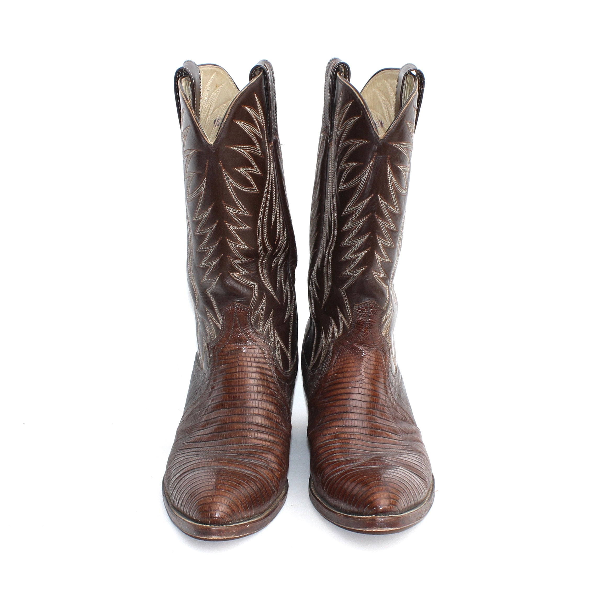 Men's Leather Cowboy Boots Made in Mexico