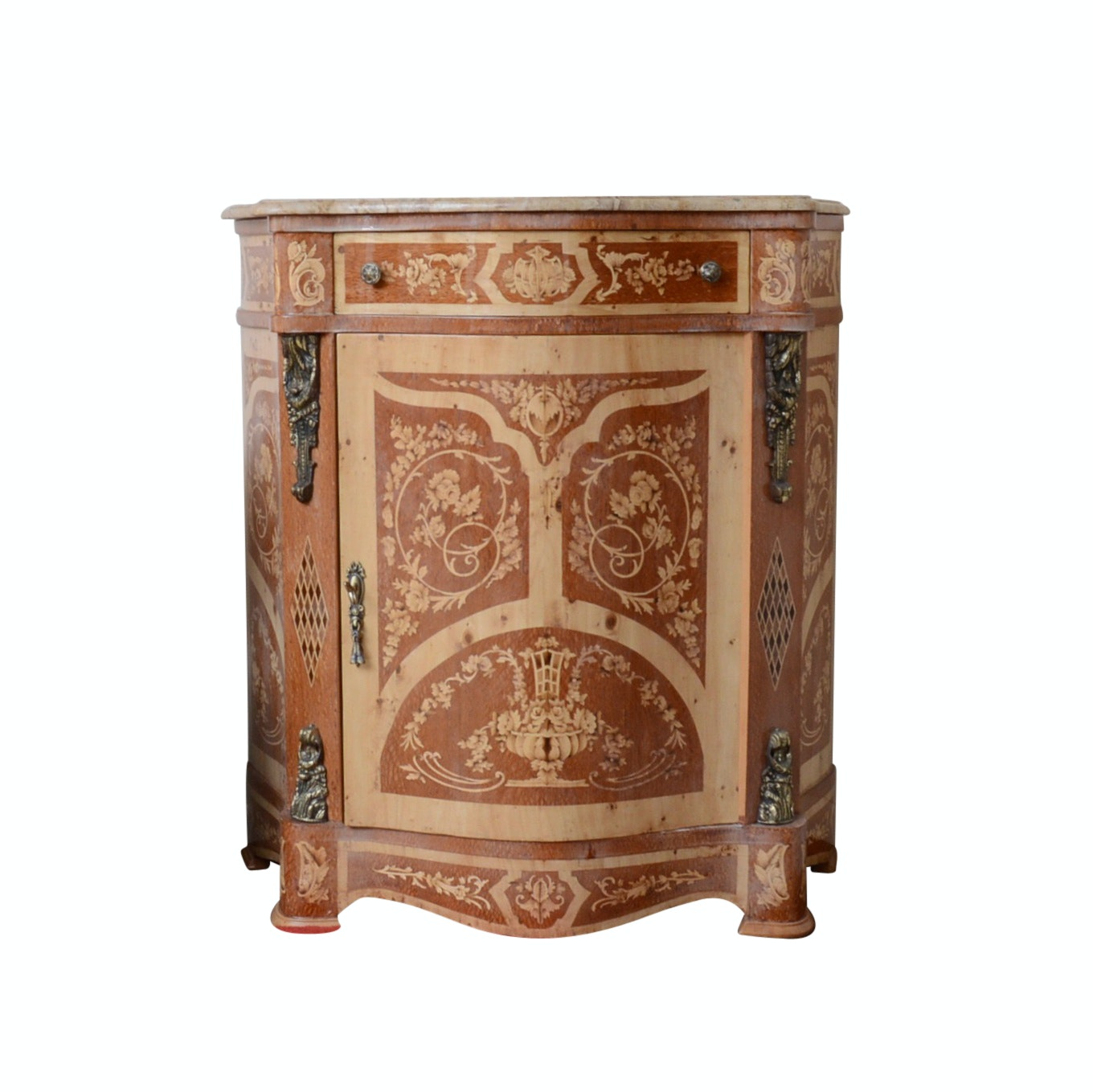 Orante Commode with Marble Top